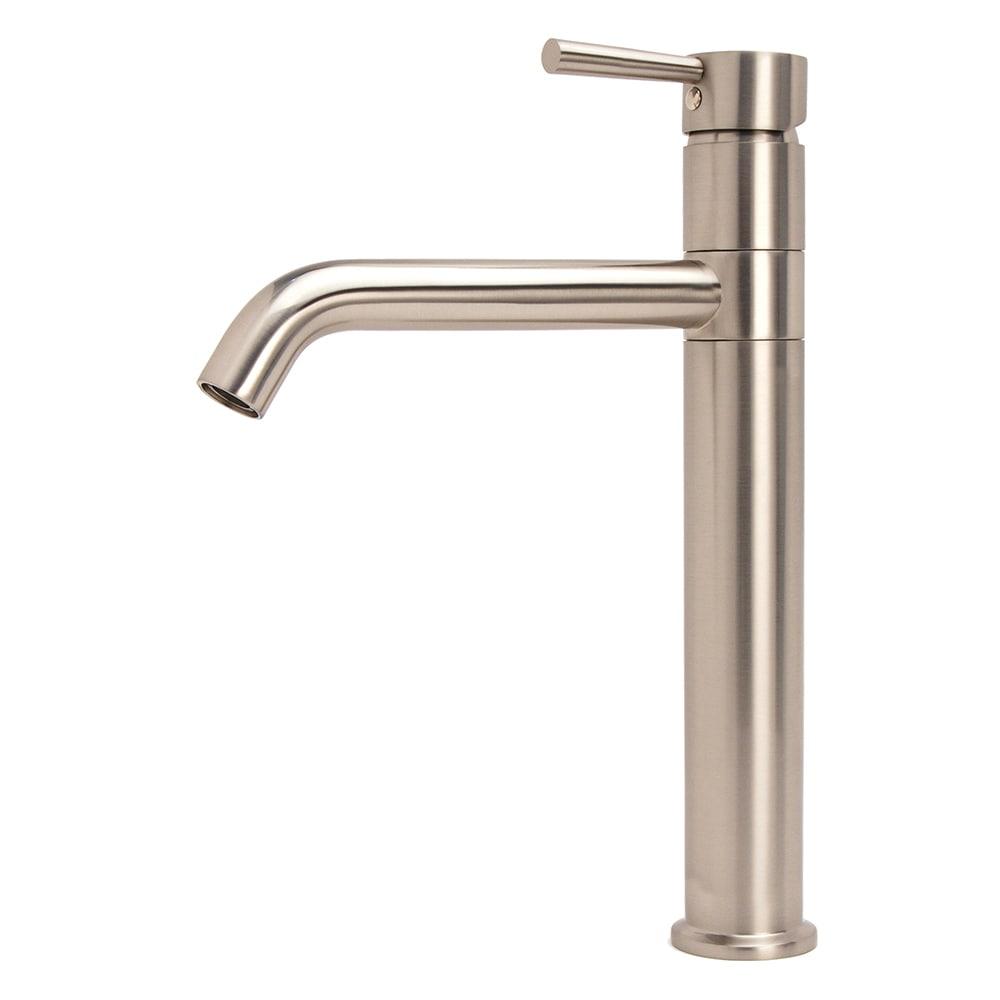 LSH Brushed Nickel European Swivel Arm Vessel Sink Faucet - Free ...
