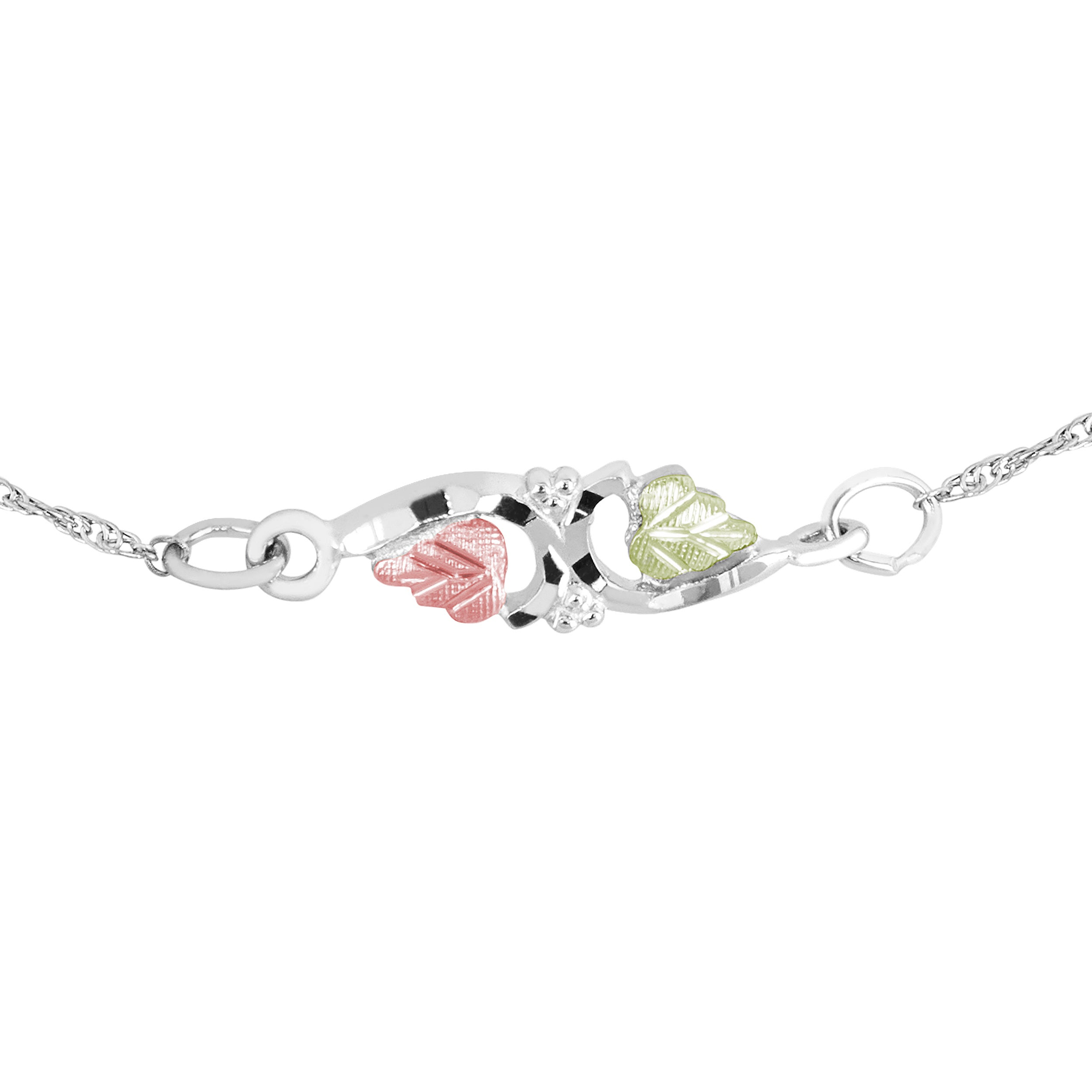 bracelet claws store anklet with tennis diamonds