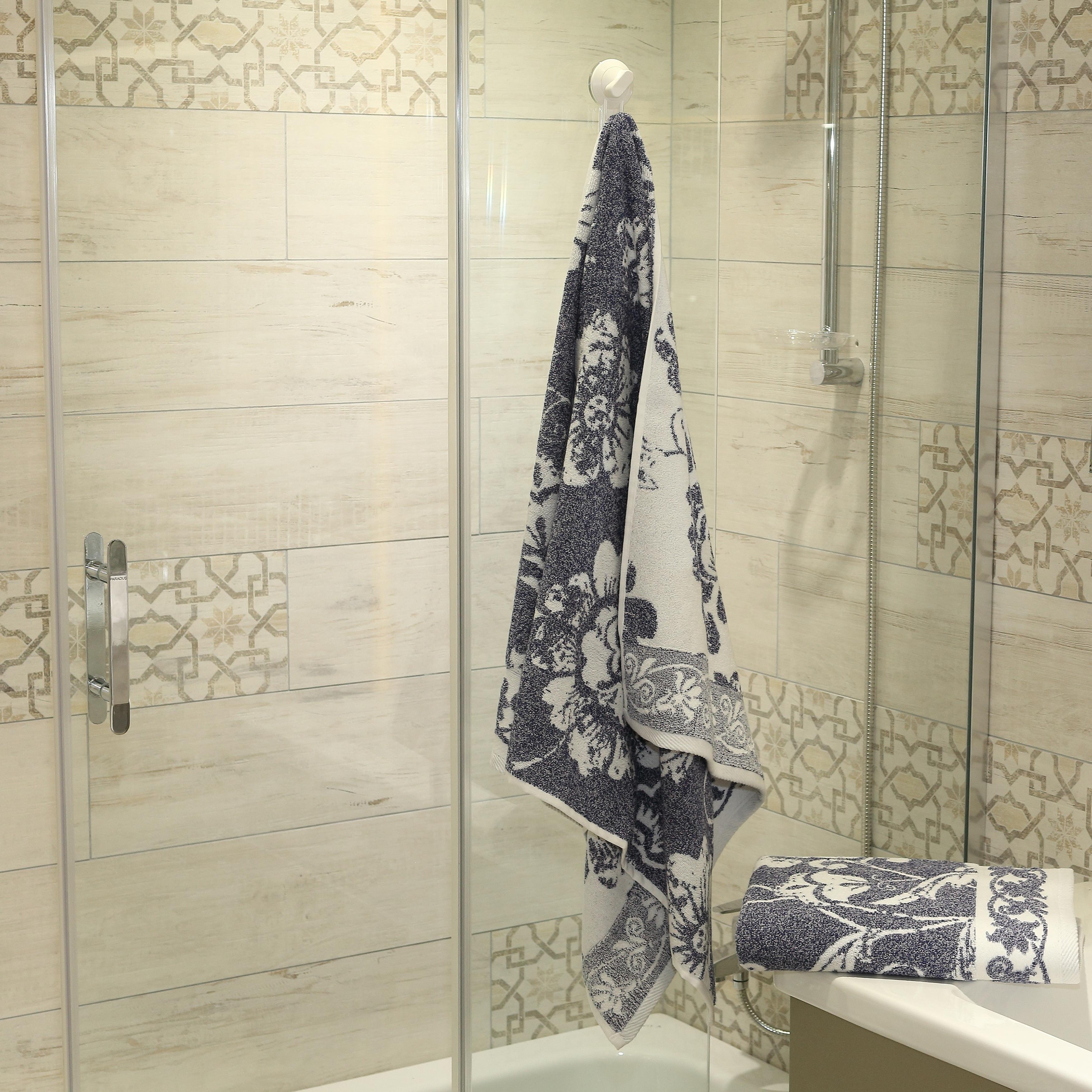 Authentic Hotel and Spa Anna Turkish Cotton Jacquard Bath Towel (Set ...