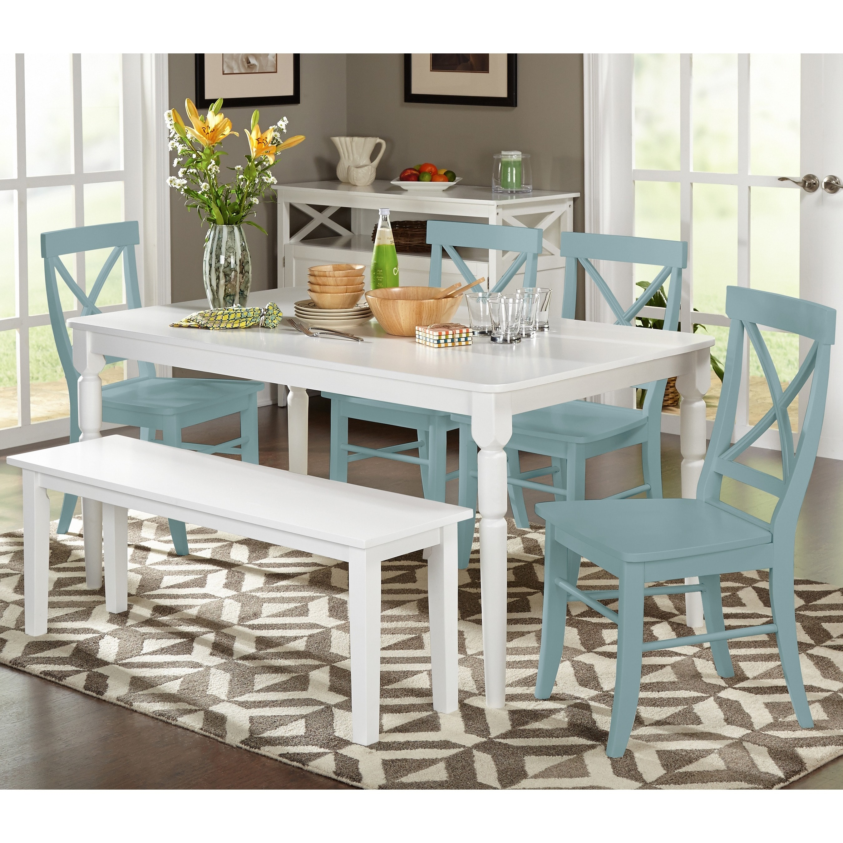Shop Simple Living 6 piece Albury Dining Set