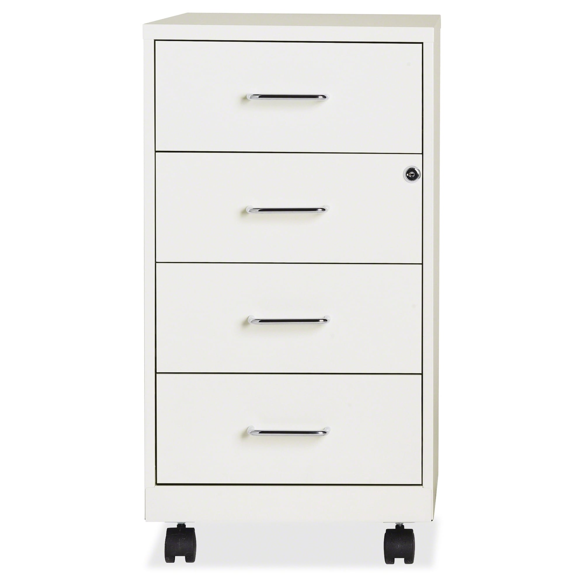 Office Designs Pearl White Metal 18 Inch 4 Drawer File Cabinet   Free  Shipping Today   Overstock   17813595