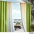 Gazebo Grommet Top 96 inch Indoor/ Outdoor Curtain Panel in White (As Is Item)