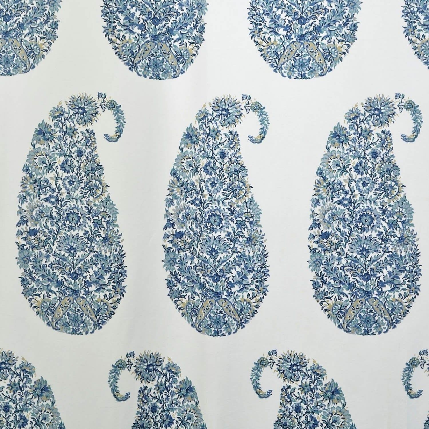 db15b38affa7 Shop Exclusive Fabrics Paisley Park Printed Cotton Twill Curtain Panel - On  Sale - Free Shipping Today - Overstock - 10768883