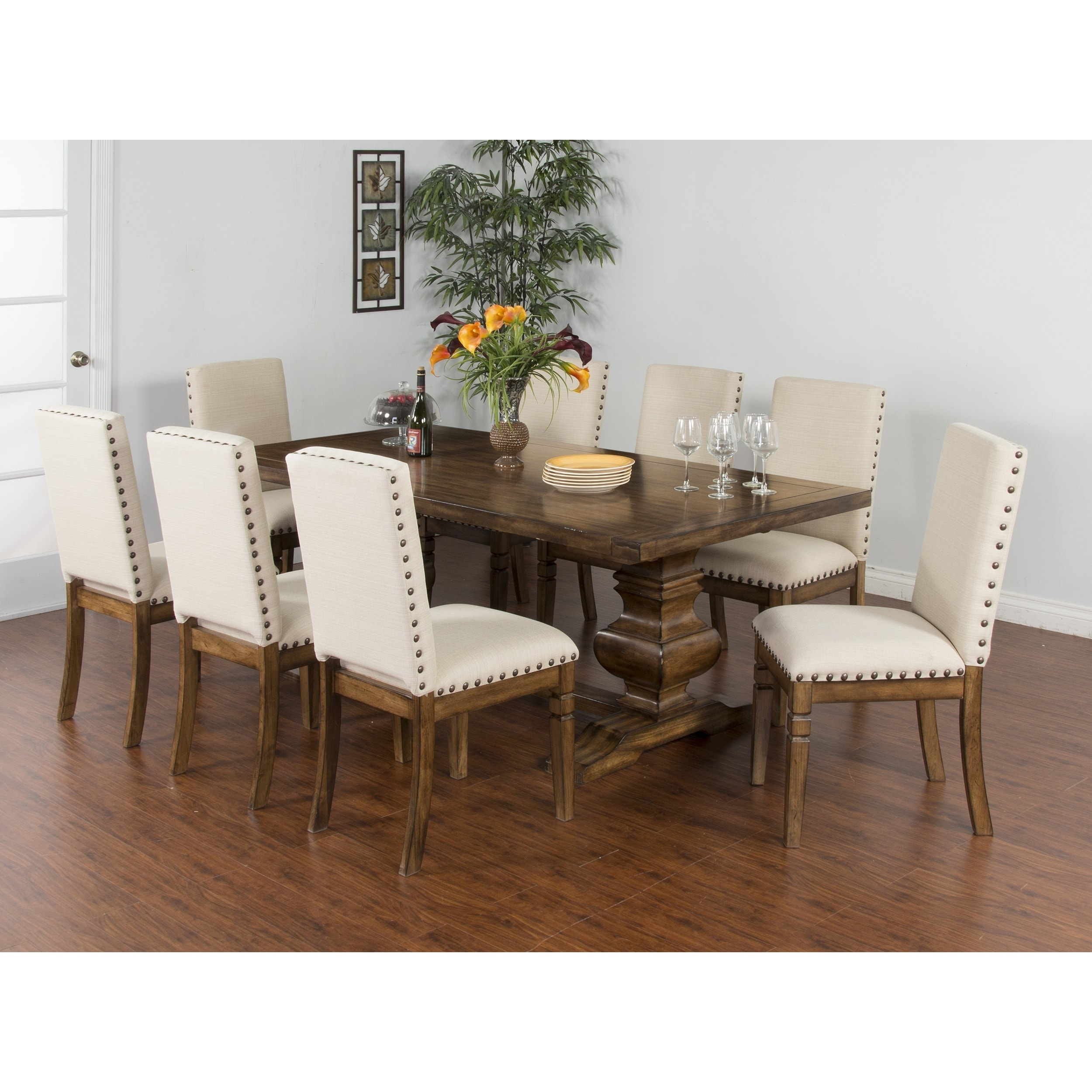 Sunny Designs Cornerstone Extension Dining Table - Free Shipping Today -  Overstock.com - 17821481