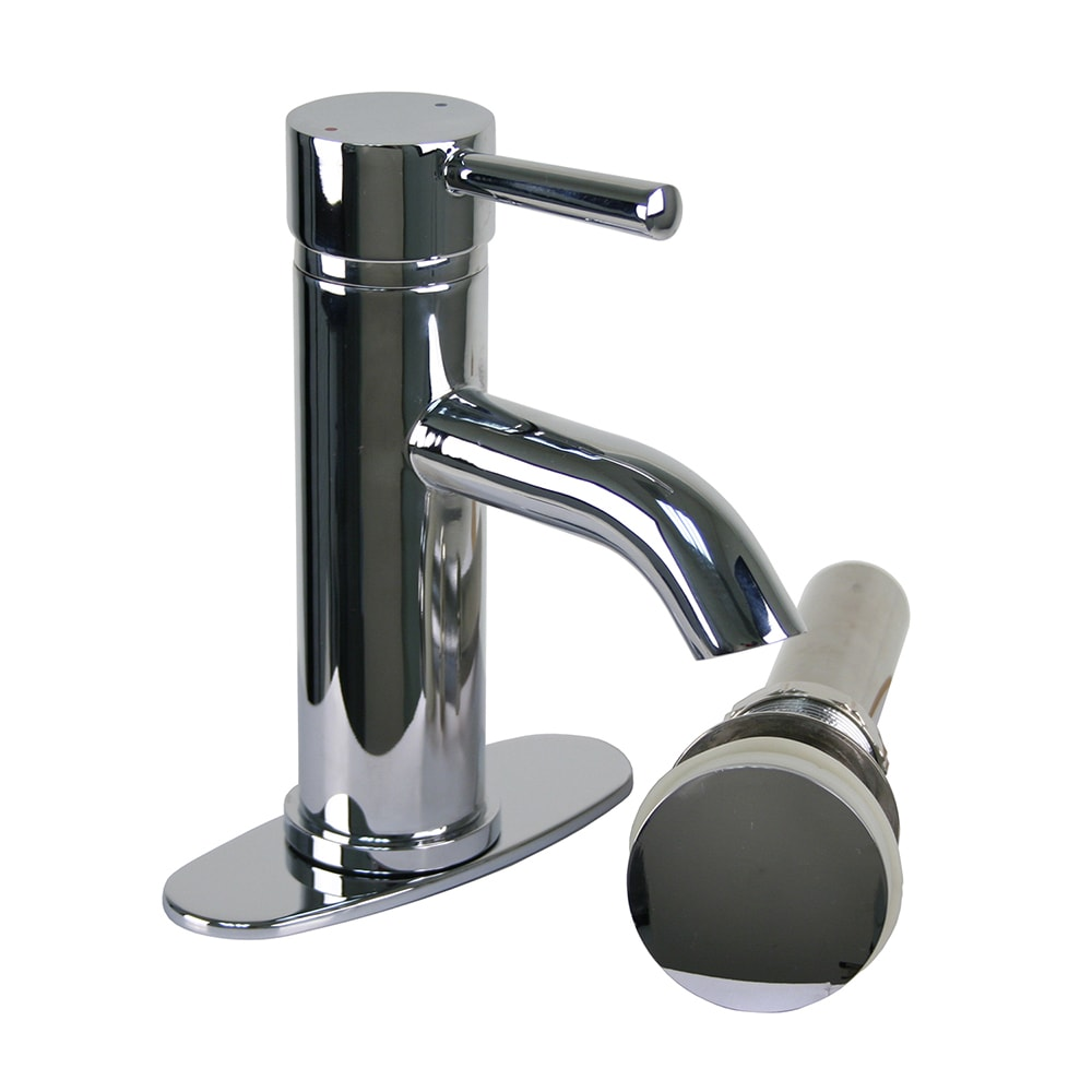 Shop Brienza Moncalieri Chrome European Single Post Bathroom Faucet ...