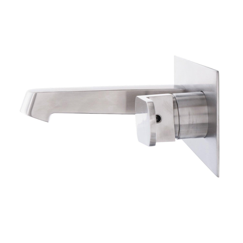 Dyconn Faucet Signature Series Single Handle Modern Wall Mount Bath ...
