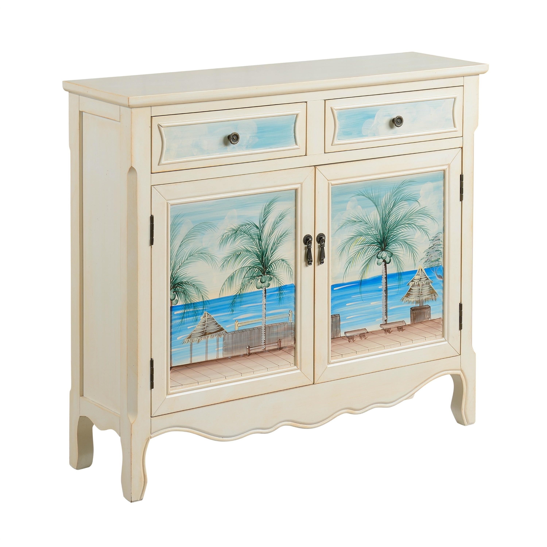 Shop Somette Key Largo Seaview Two Drawer, Two Door Cupboard - Free ...
