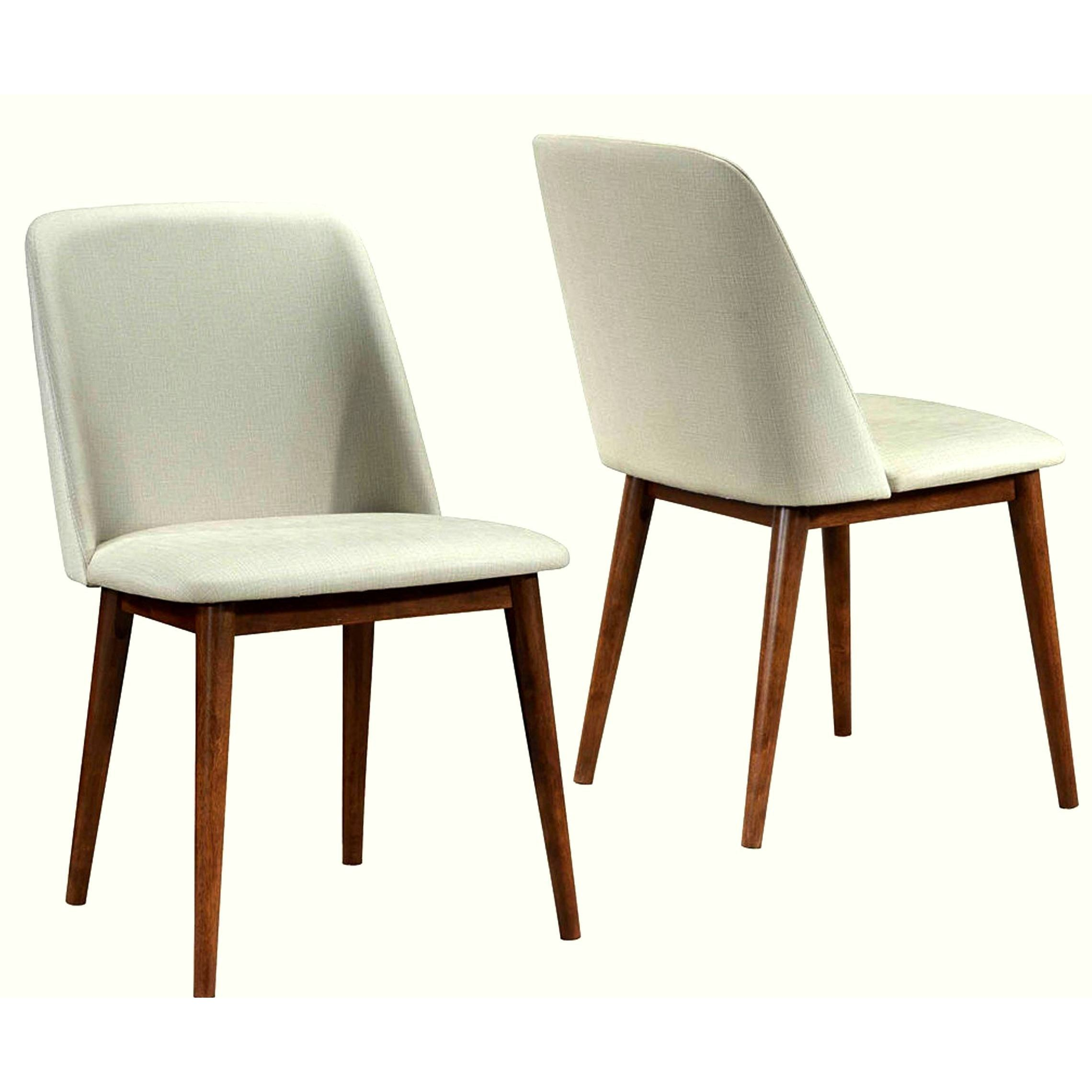 Shop soho mid century modern upholstered dining chairs set of 2 free shipping today overstock com 10789572