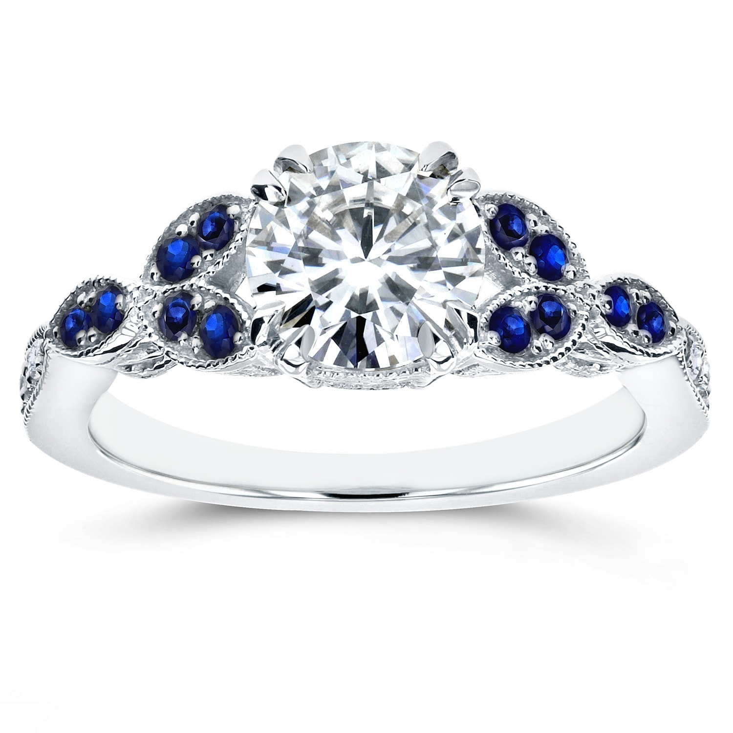 sapphire bridal eternity wave products and dsc engagement set nodeform wedding white band ring by moissanite
