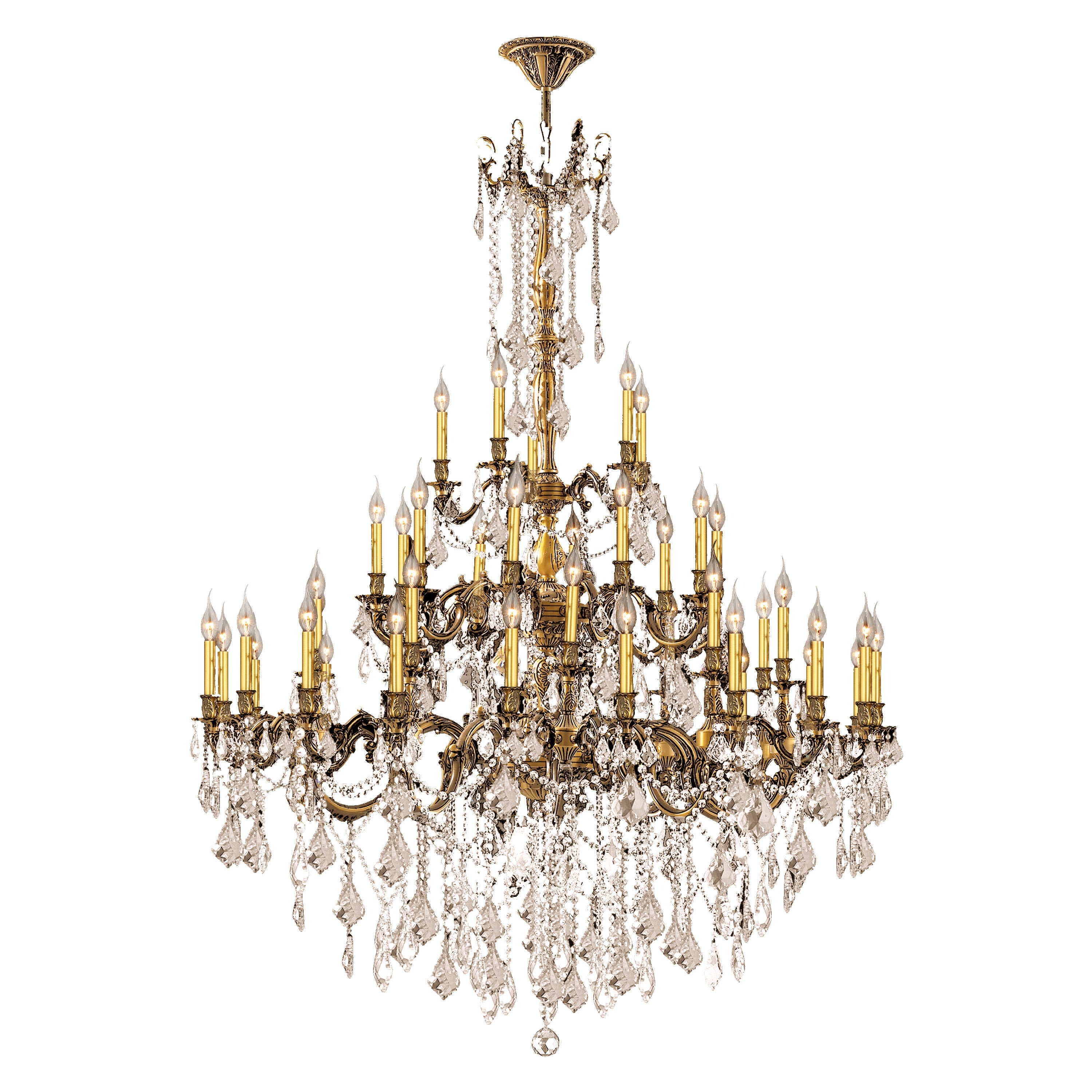 Italian elegance 45 light antique bronze finish and golden teak italian elegance 45 light antique bronze finish and golden teak crystal traditional chandelier large free shipping today overstock 17839141 arubaitofo Image collections