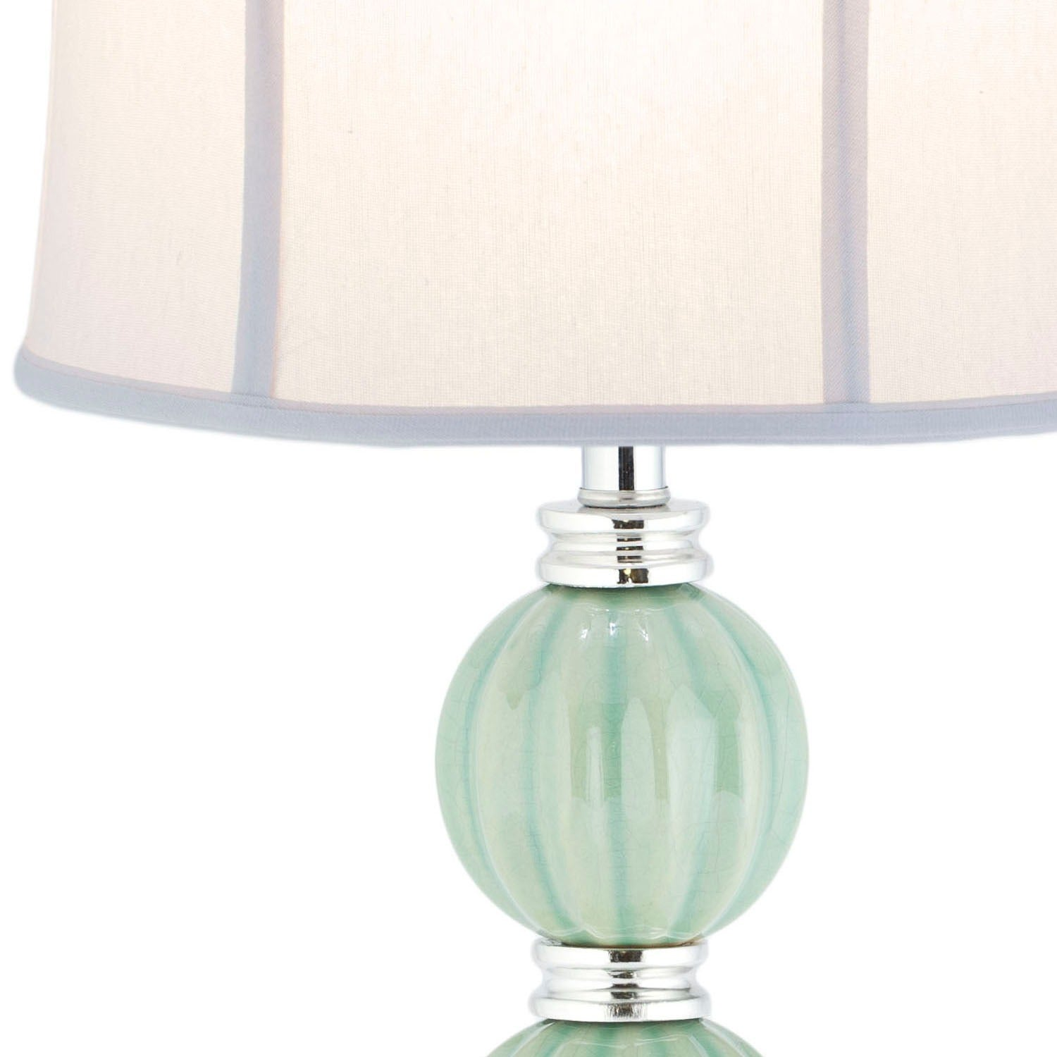 Safavieh Lighting 25 Inch Stephanie Green Globe Table Lamp   Free Shipping  Today   Overstock   17842042