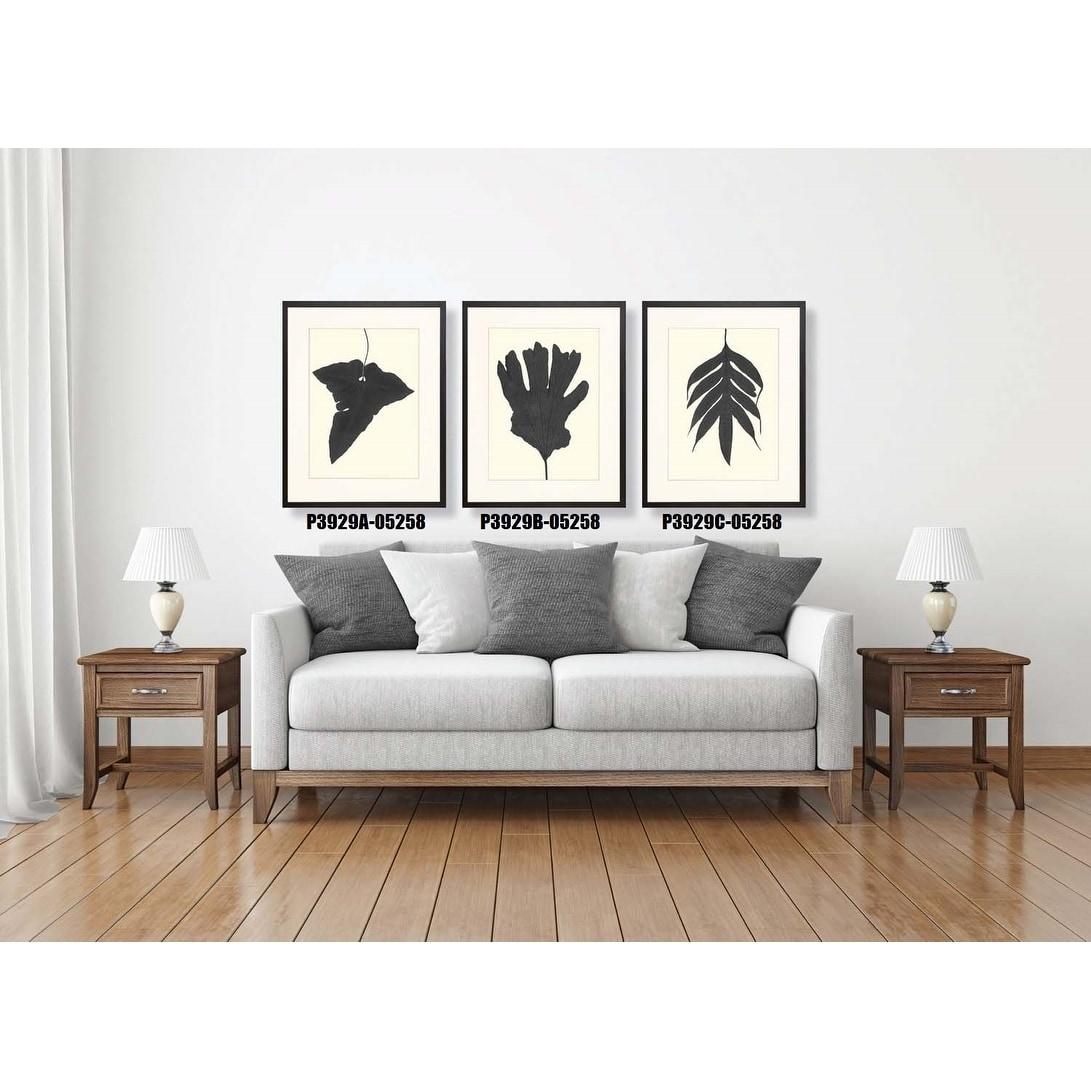 Shop Black Ferns Framed Art Print VI - Free Shipping Today ...