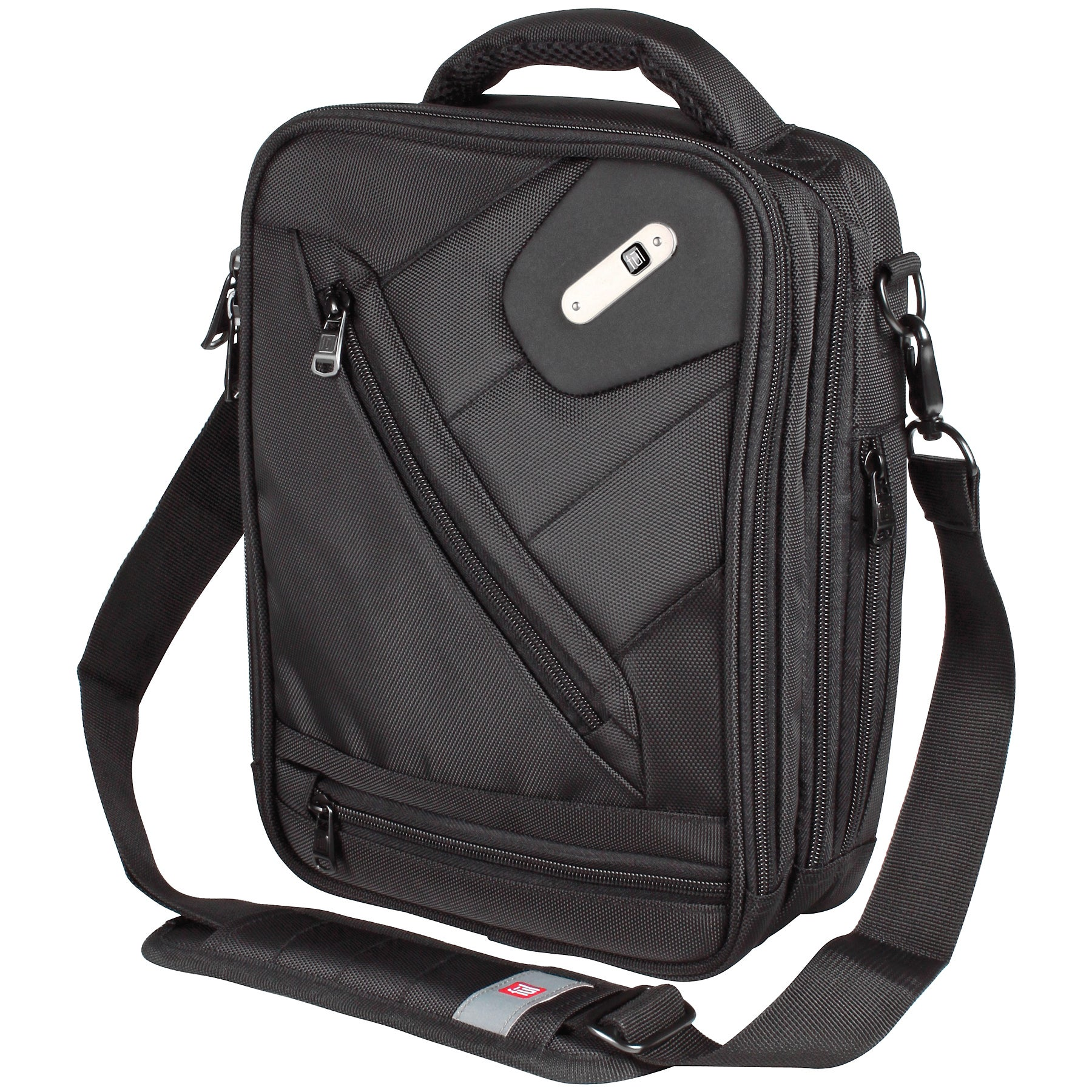 Shop Ful Sidecar Black Vertical Messenger Bag - Free Shipping On ...