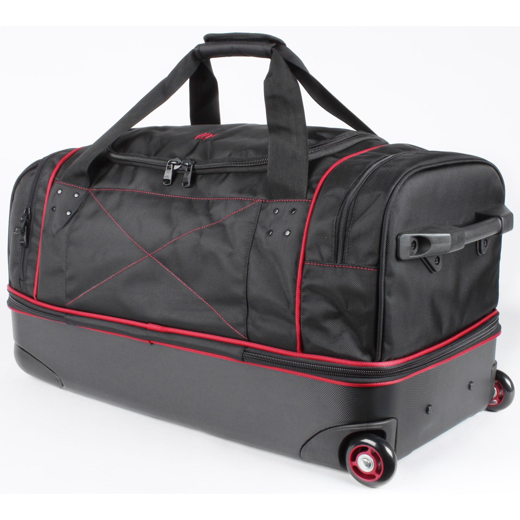 Ful Hybrid 28 Inch Drop Bottom Rolling Duffel Bag Free Shipping Today 10808021
