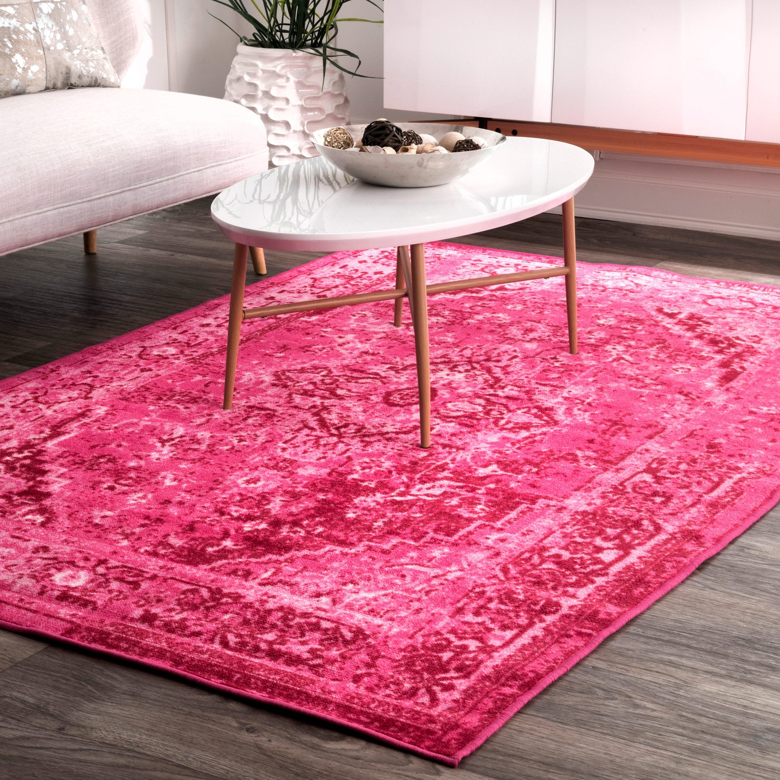 fables floral pink and rugs rug area purple jaipur