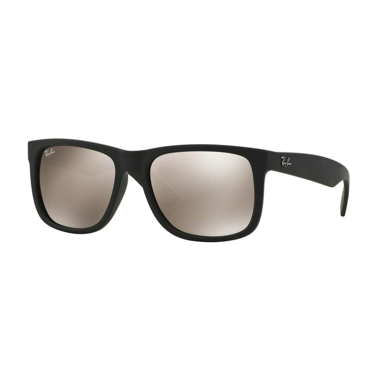 a1314bd327796 Ray-Ban Justin Color Mix RB 4165 Unisex Black Frame Gold Mirror Lens  Sunglasses
