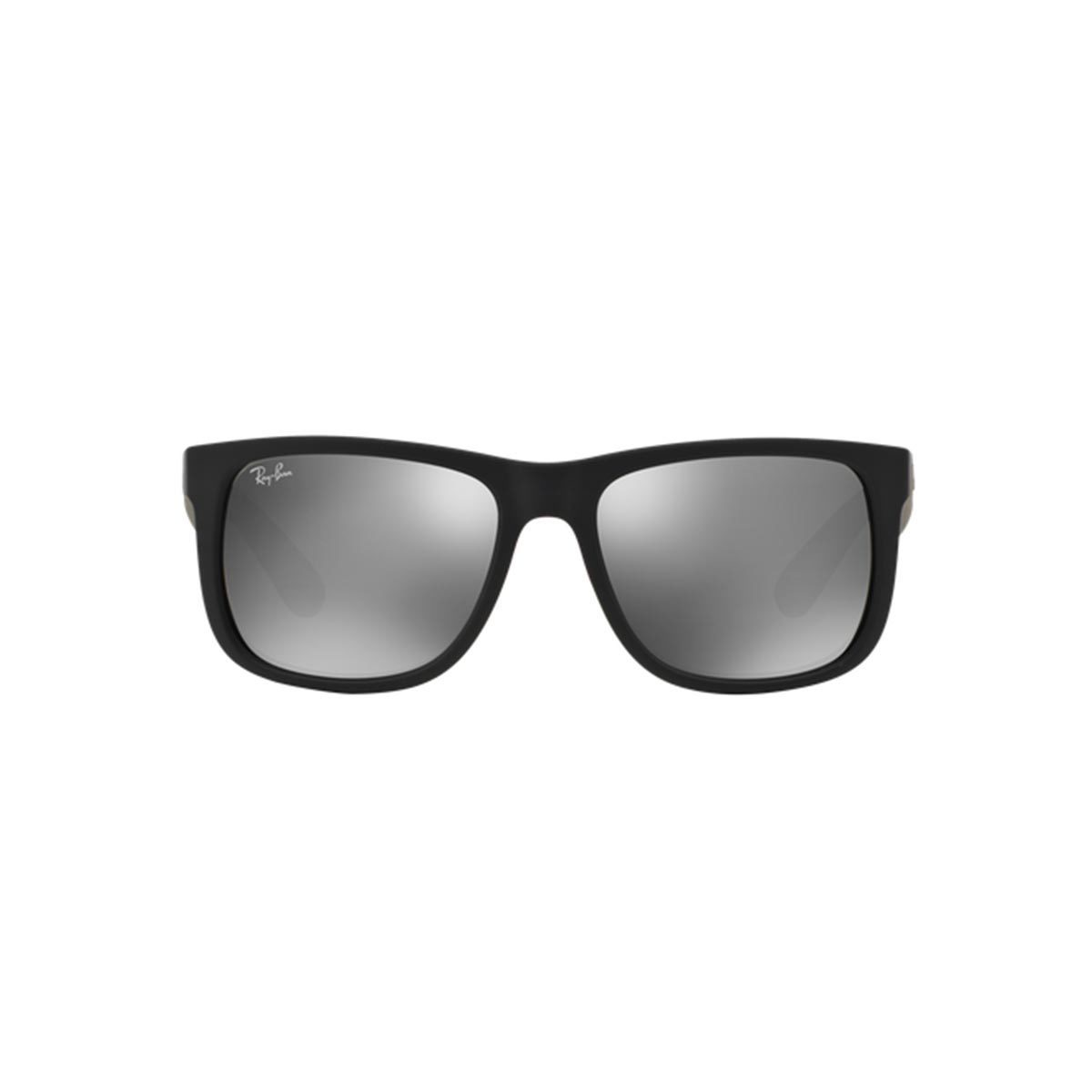 0c42c9666c Shop Ray-Ban Justin Color Mix RB 4165 Unisex Black Frame Grey Mirror Lens  Sunglasses - Free Shipping Today - Overstock - 10809681