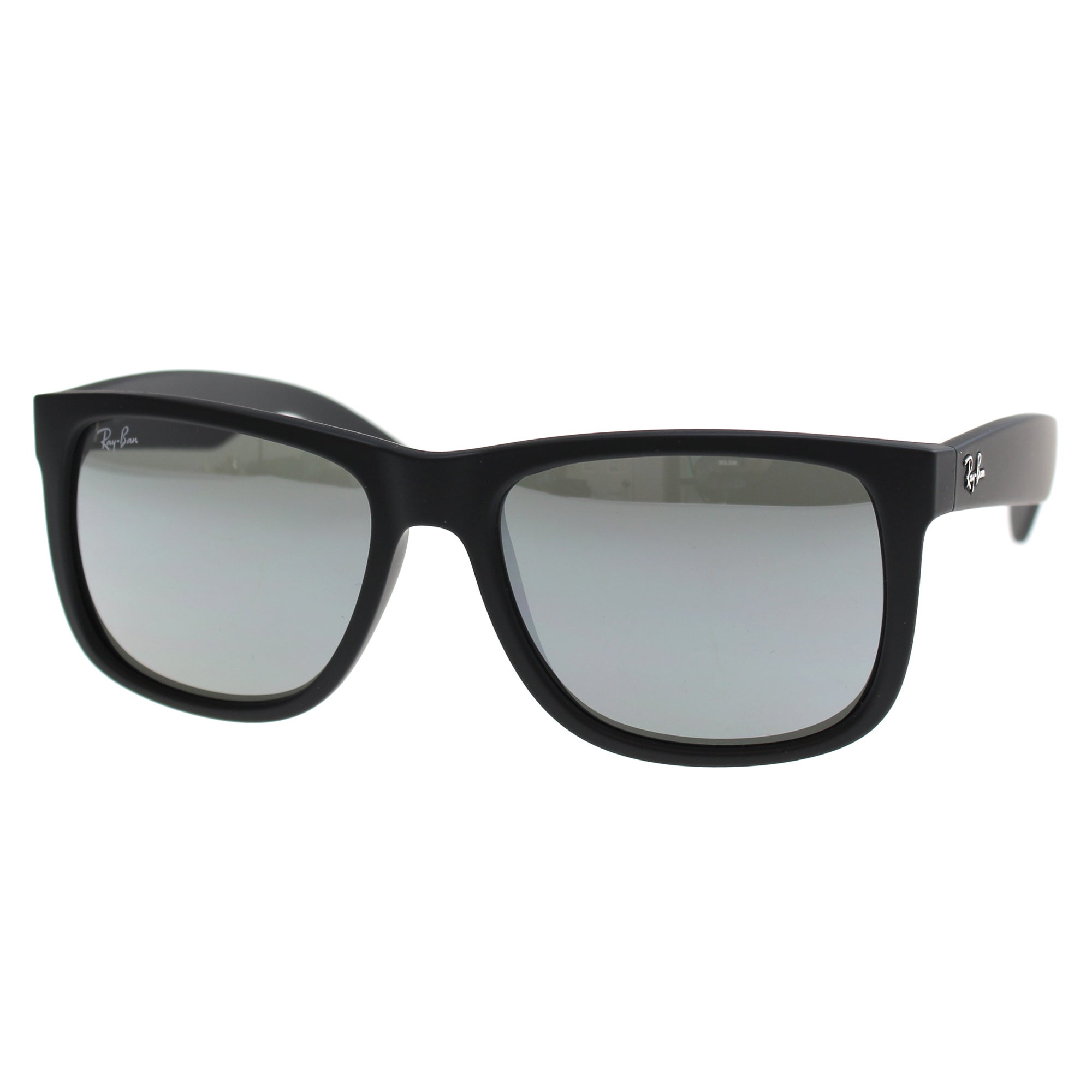 8801eaeb32 Shop Ray-Ban Justin Color Mix RB 4165 Unisex Black Frame Grey Mirror Lens  Sunglasses - Free Shipping Today - Overstock - 10809681