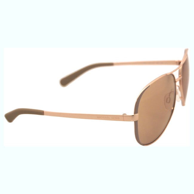 e259bd2f057 Shop Michael Kors Womens Chelsea MK 5004 1017R1 Rose Gold And Toupe Metal  Aviator Sunglasses - Free Shipping Today - Overstock - 10809697