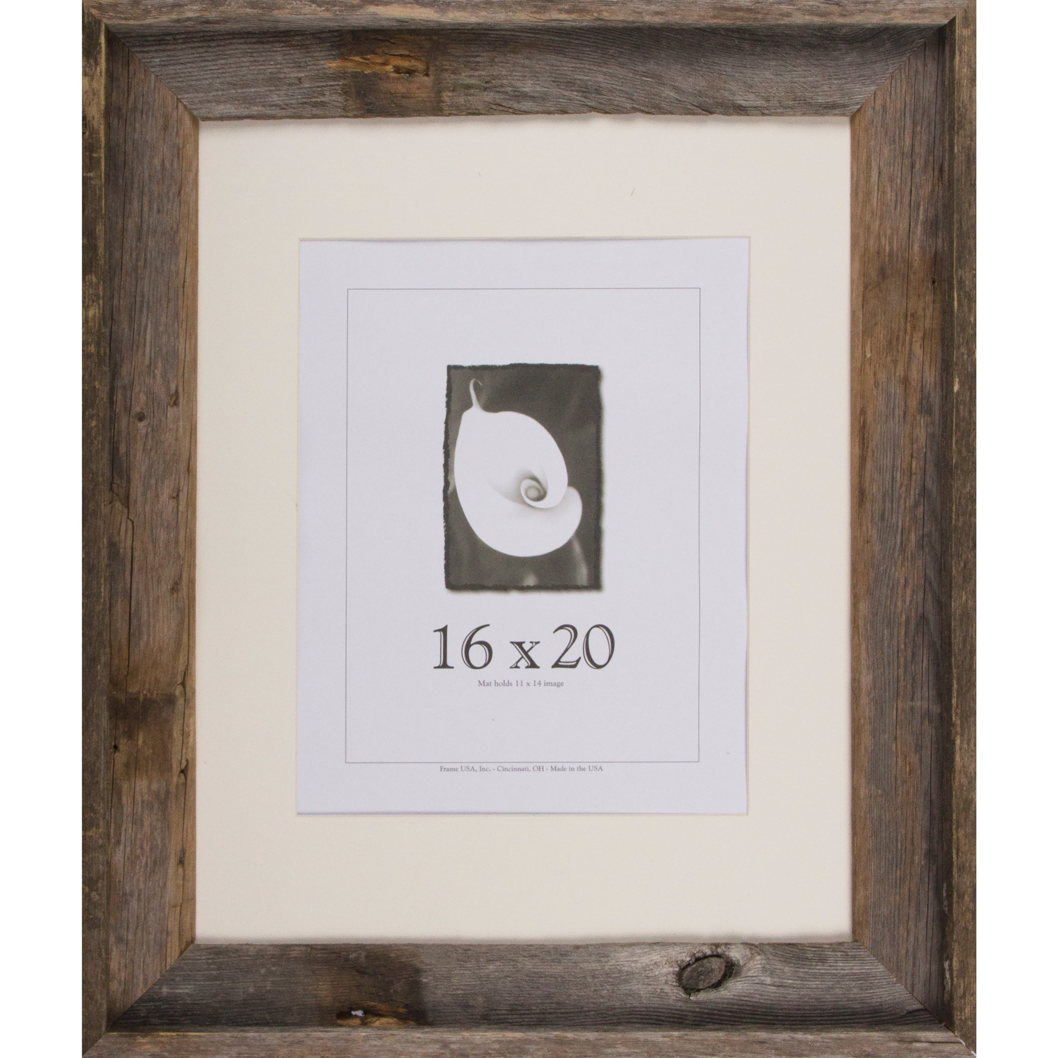 Shop Barnwood Signature Series Picture Frame (16 x 20) - Free ...