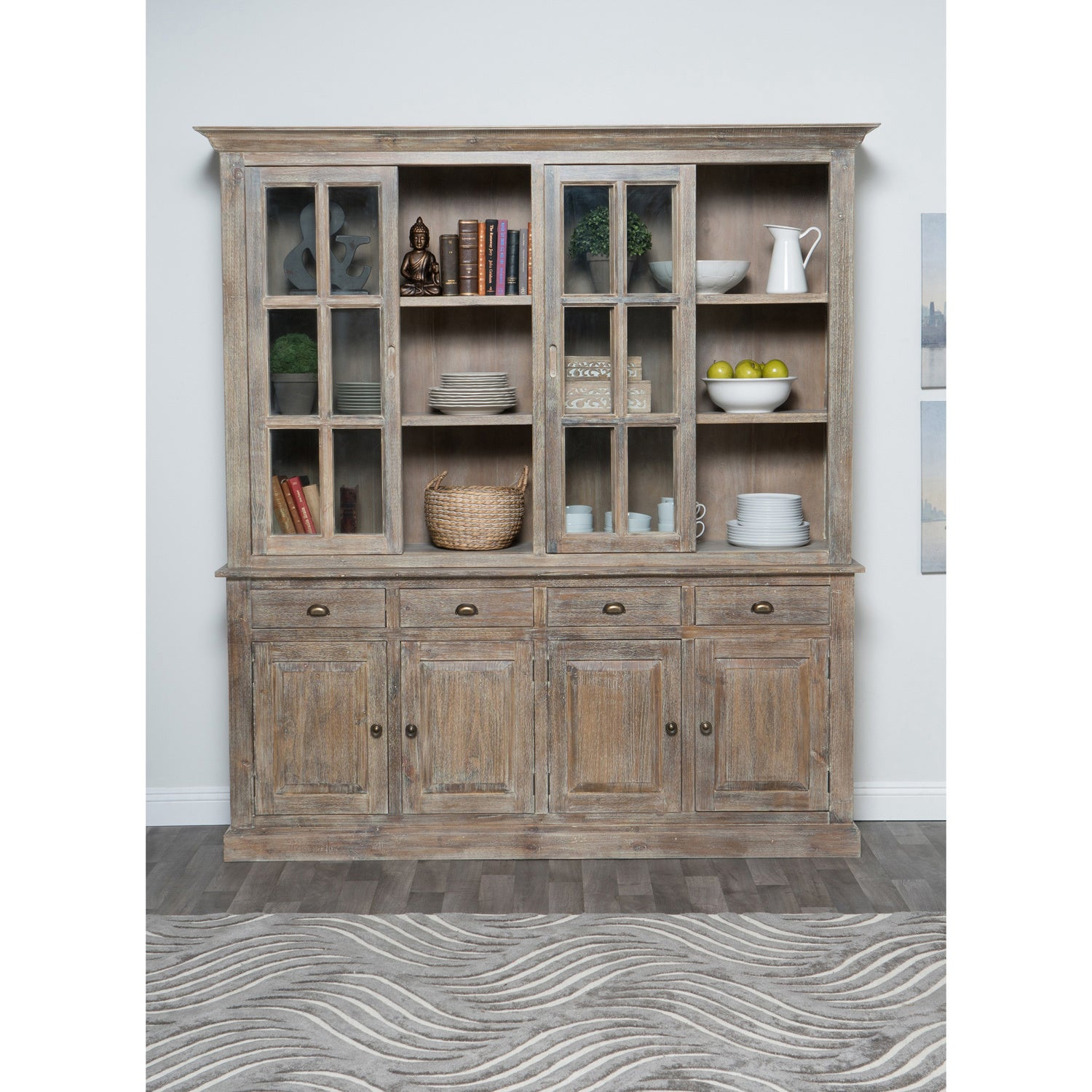Rockie Wood China Cabinet by Kosas Home - Free Shipping Today -  Overstock.com - 17855751