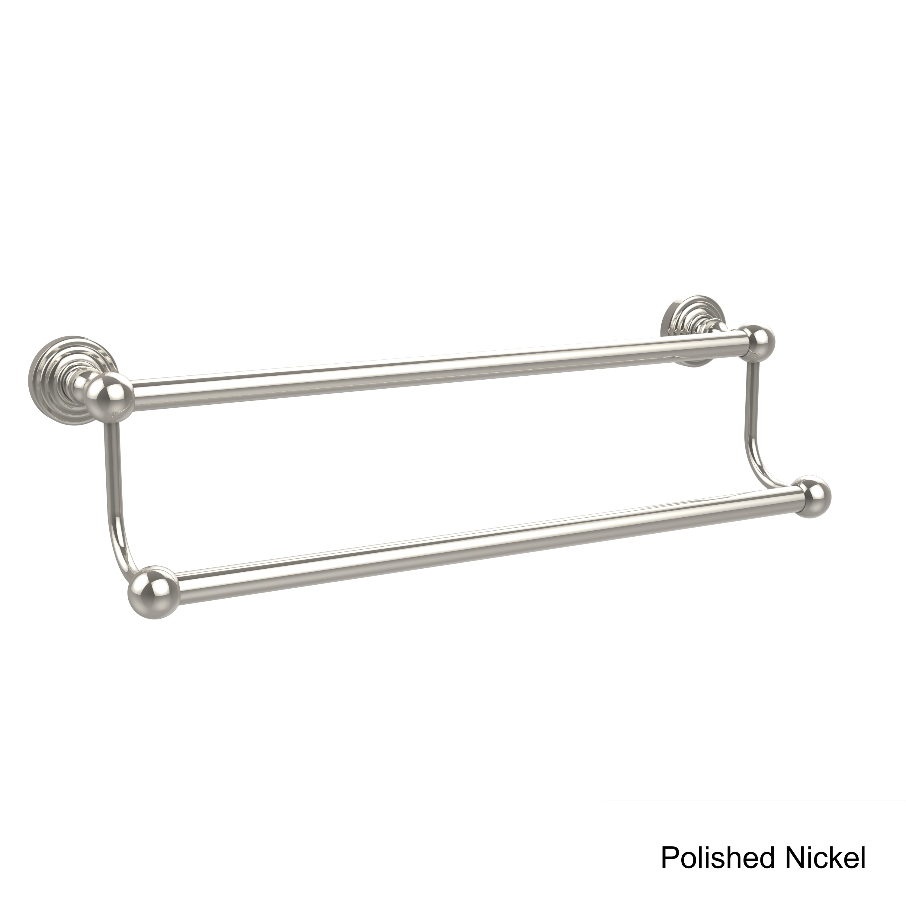 Shop Allied Brass Waverly Place Collection 18 Inch Double Towel Bar