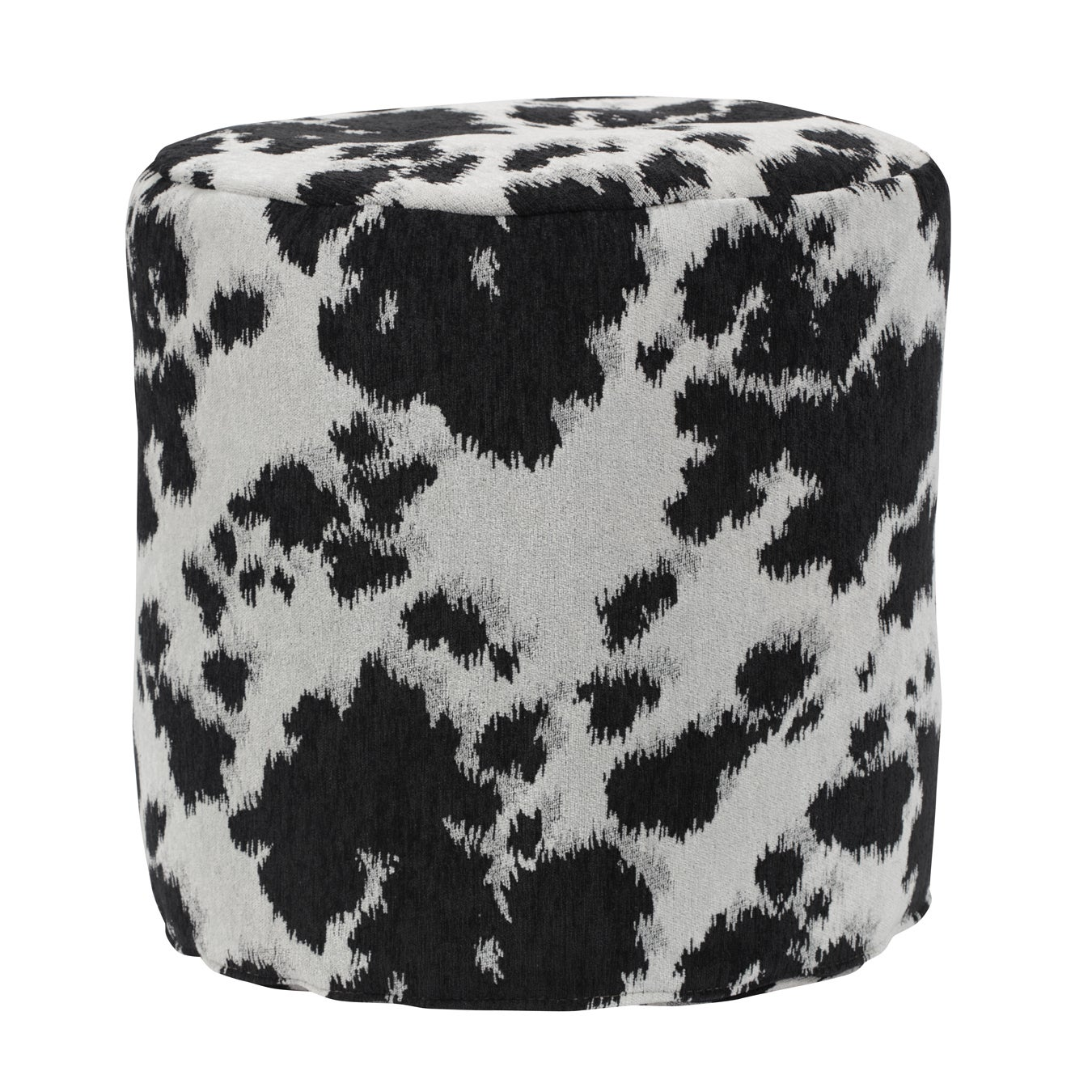 Black Cow Udder Madness Pouf Ottoman - Free Shipping Today ...