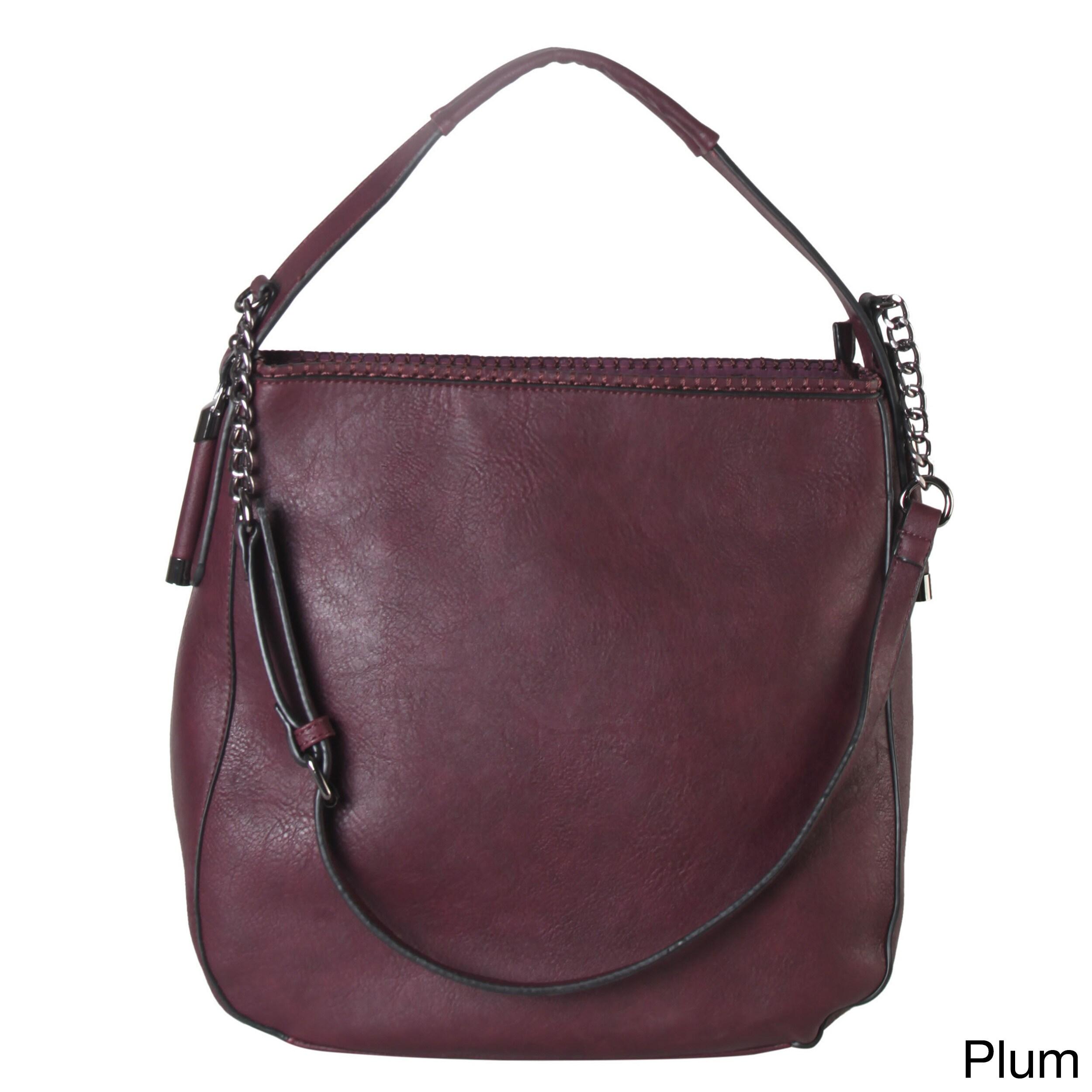 Shop Diophy Chain Shoulder Strap Hobo Style Handbag - On Sale - Free ... 6dc1f972ac
