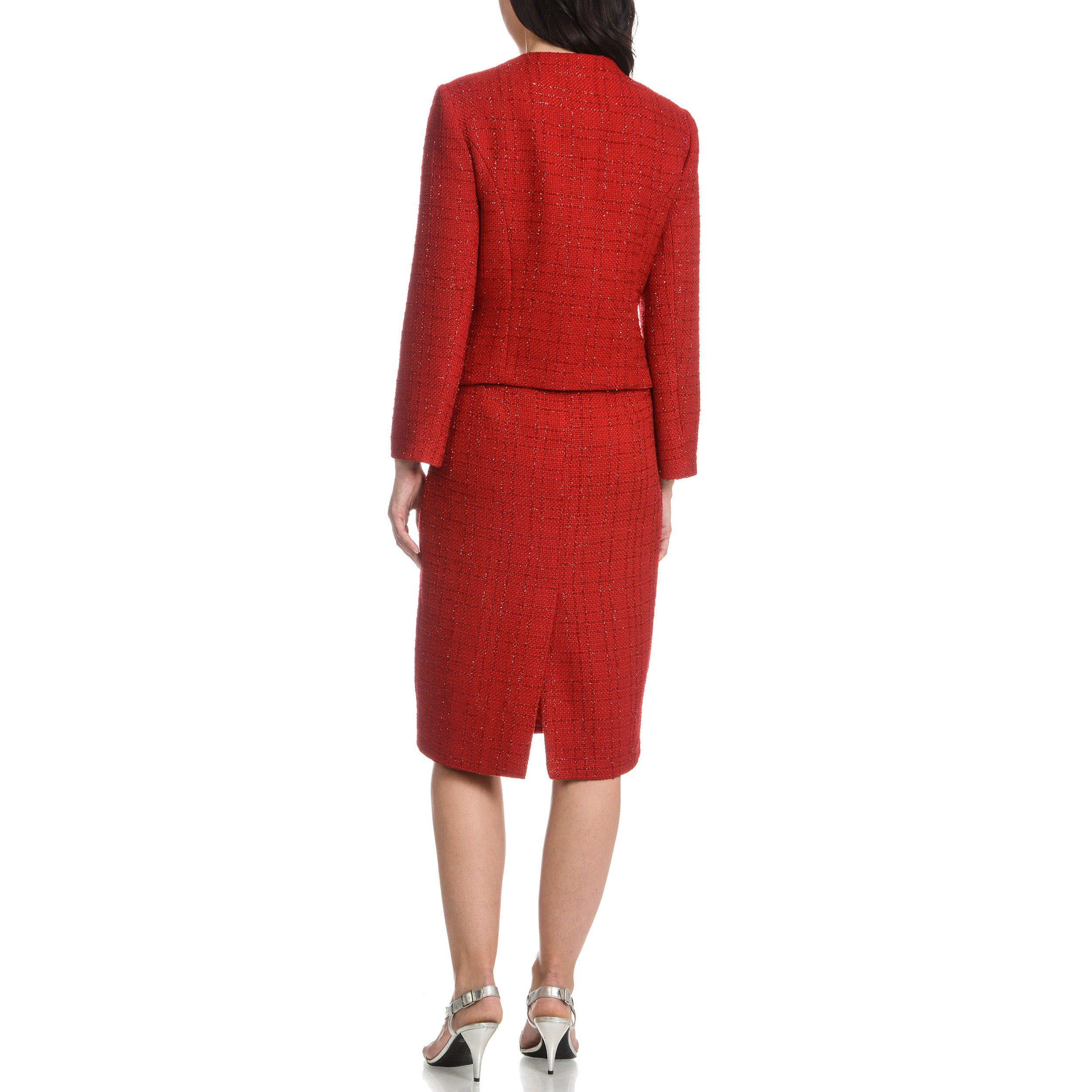 Shop Mia-Knits Collection Women s Glitter Boucle 2-piece Dress Suit - Free  Shipping Today - Overstock - 10812737 b7ff38cb8c
