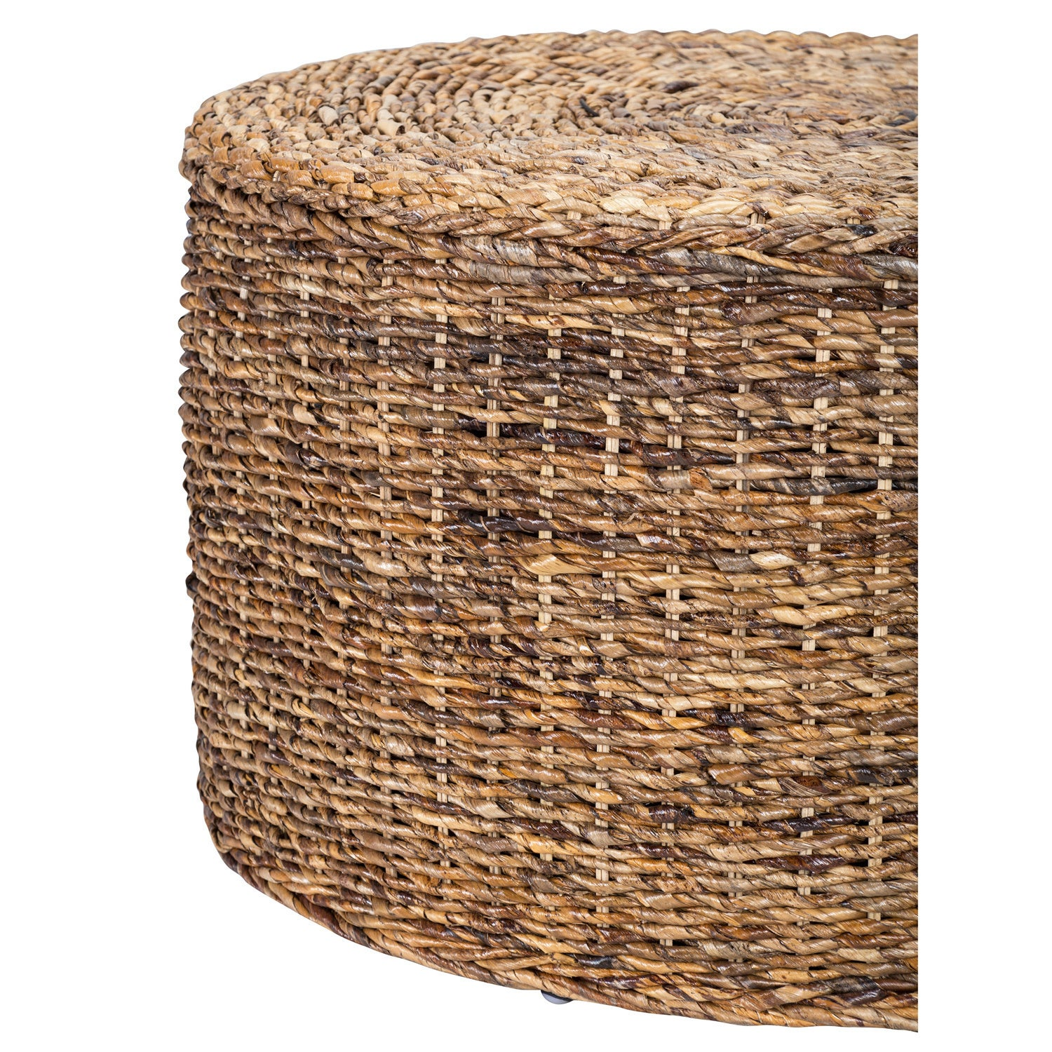 Shop Ira Rattan Round Coffee Table By Kosas Home   Free Shipping Today    Overstock.com   10813459