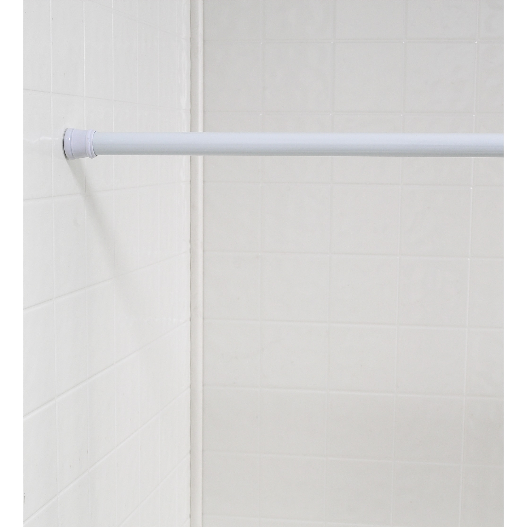 Shop Standard Size Shower Curtain Tension Rod Free Shipping On