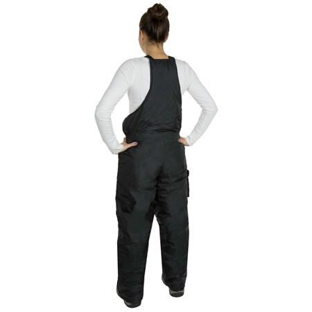 ba4d20c8f Shop Women s JTC Black Nylon Snow Bibs - Free Shipping Today ...