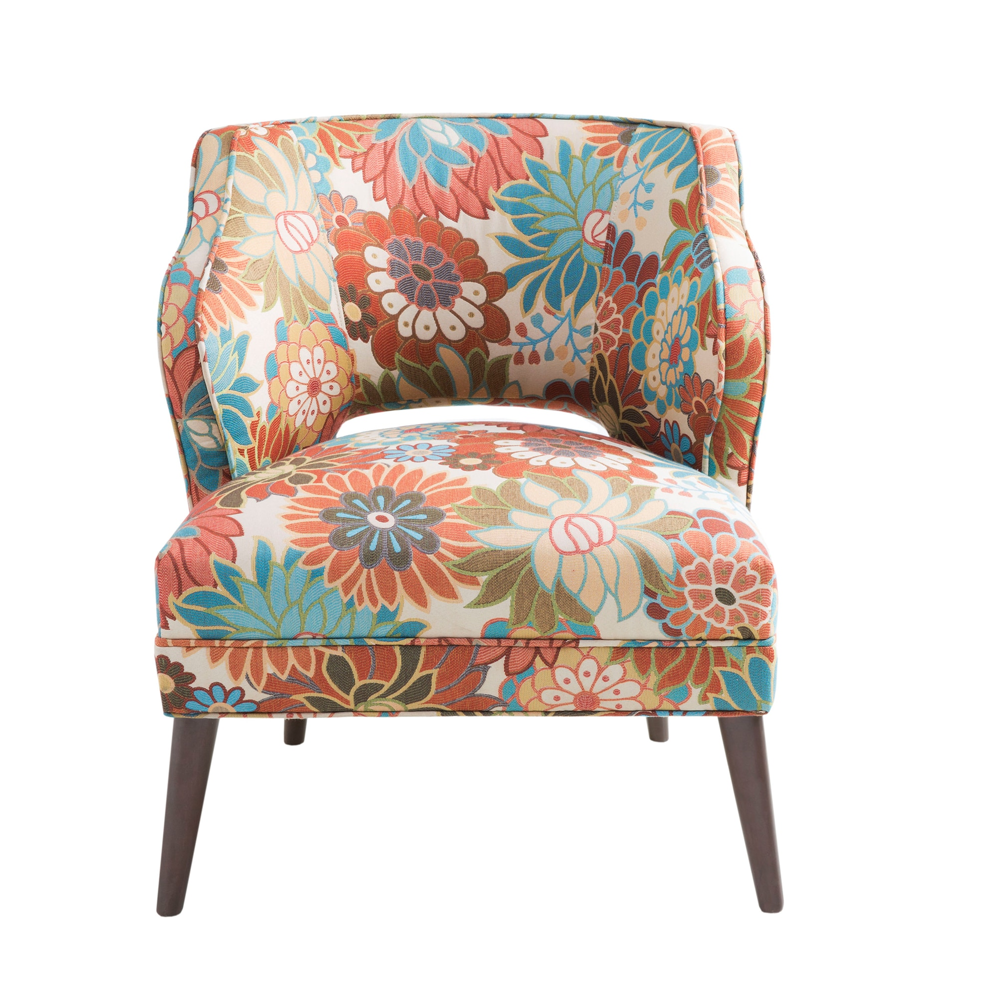 Madison Park Embry Multi Cody Open Back Accent Chair Free Shipping Today 10836405