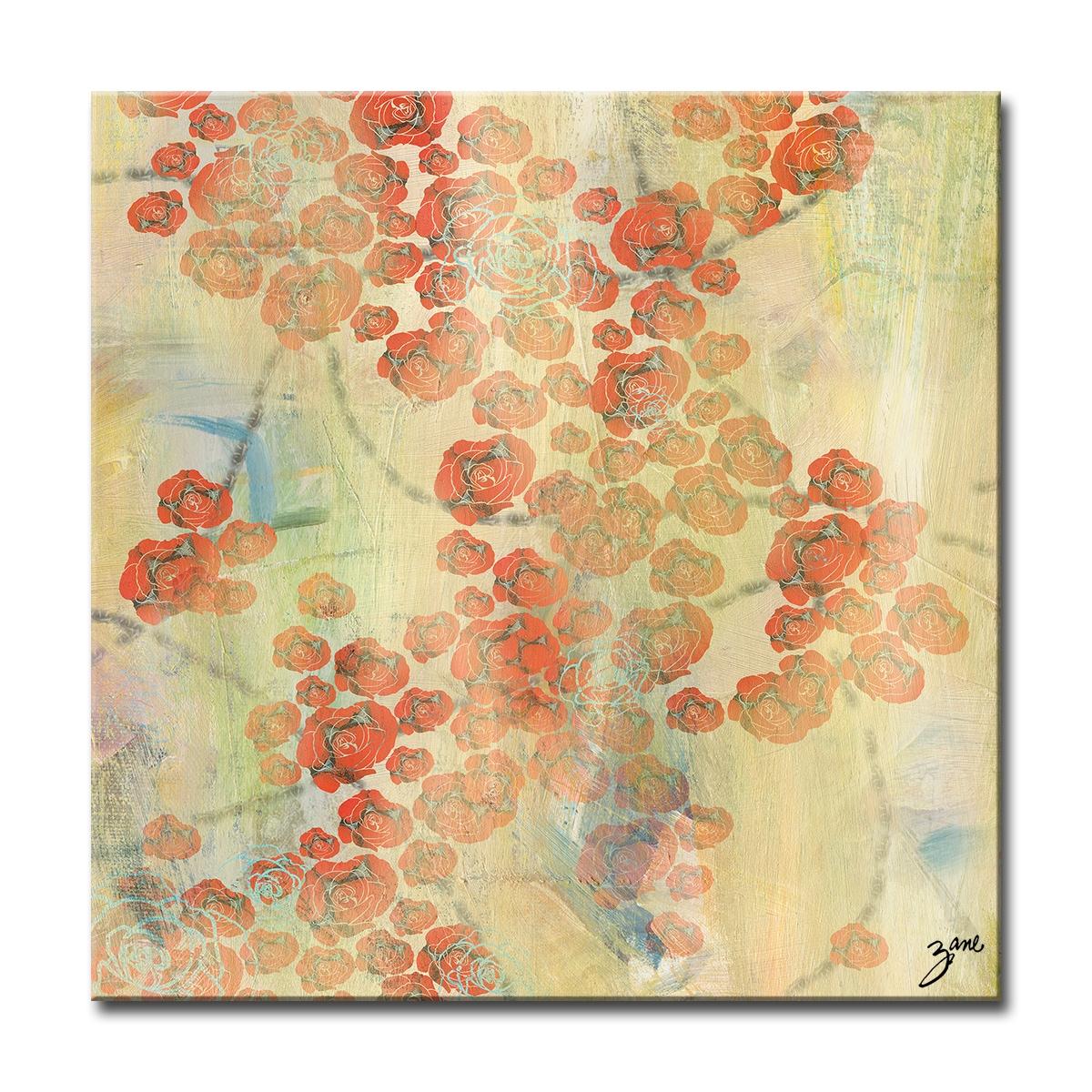 Ready2HangArt Zane Abstract \'Chains of Love\' Canvas Wall Art - Free ...