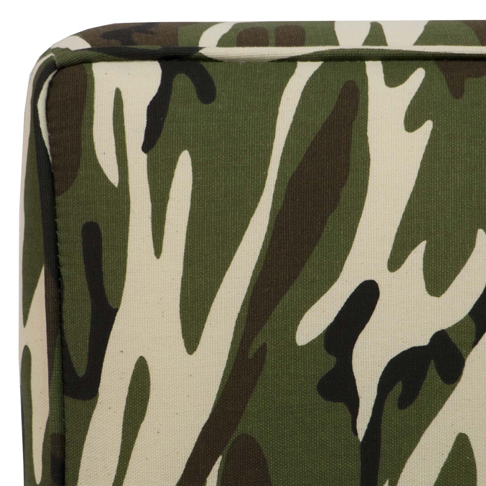 Astonishing Skyline Furniture Kids Slipper Chair In Camo Green Home Interior And Landscaping Ologienasavecom