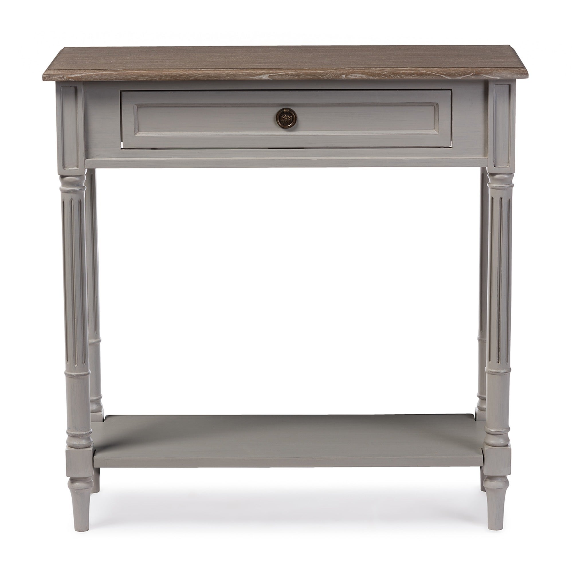 Charmant Shop Baxton Studio Edouard French Provincial Distressed Console Table    Free Shipping Today   Overstock.com   10838024