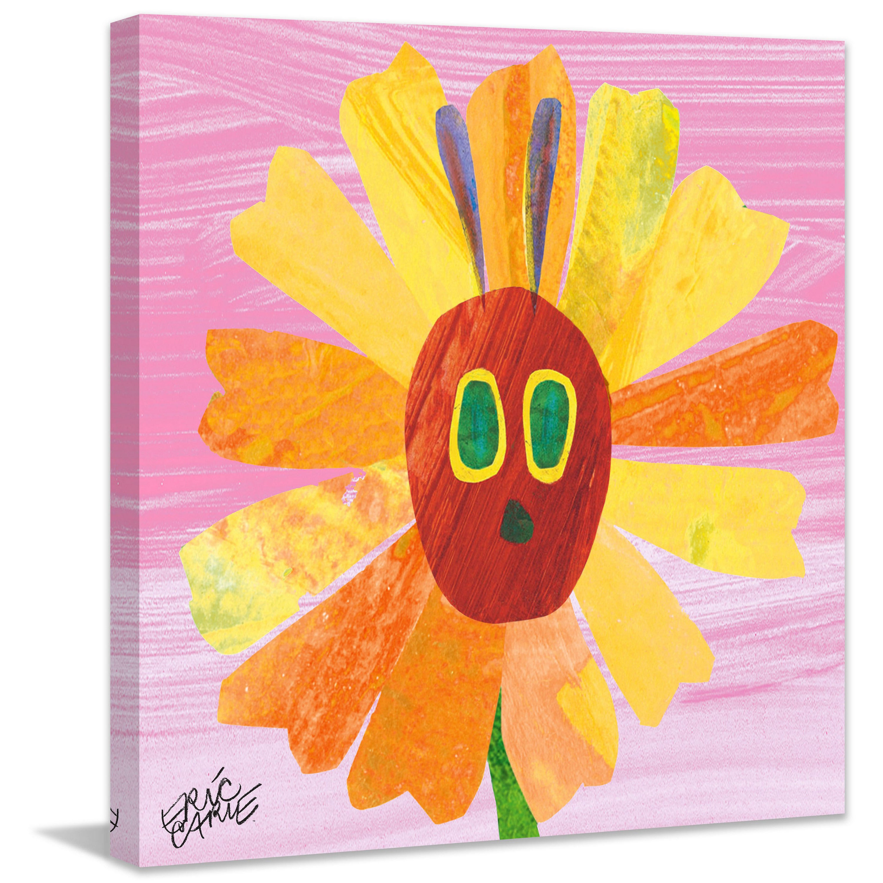 Shop Marmont Hill - Caterpillar Sunshine by Eric Carle Painting ...
