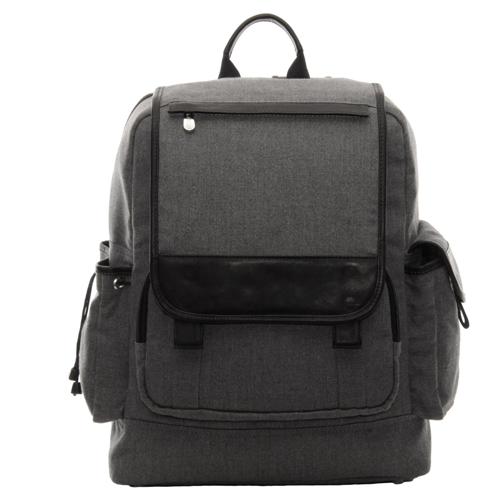Shop Piel Leather Multi-Pocket Travelers Backpack - Free Shipping Today -  Overstock - 10840645 3b089a4baedf6
