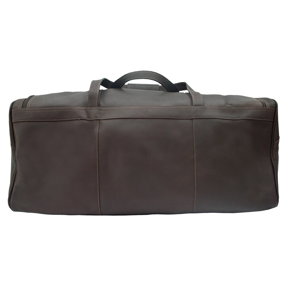 Shop Piel Leather Traveler s Select Large Duffel Bag - Free Shipping Today  - Overstock - 10840694 e28b467538843