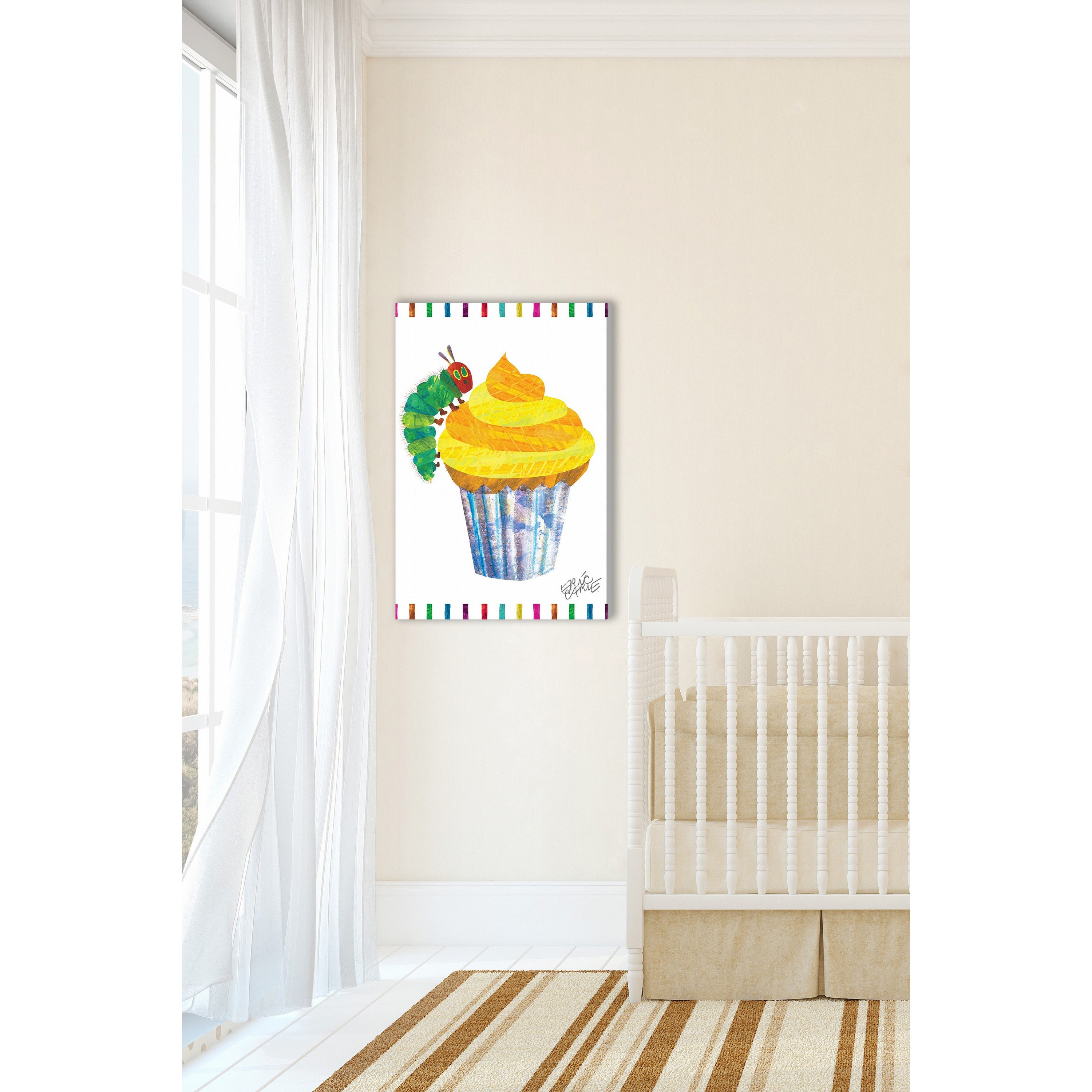 Marmont hill caterpillar cupcake by eric carle painting print on marmont hill caterpillar cupcake by eric carle painting print on canvas free shipping today overstock 17882901 nvjuhfo Choice Image