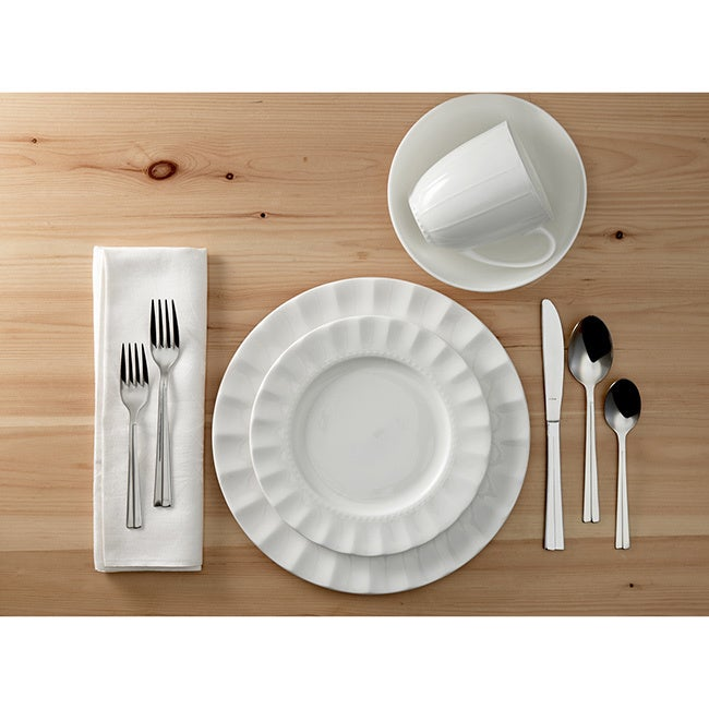 Shop Roscher Symphony Bone China 32-piece Dinnerware Set (Service for 8) - Free Shipping Today - Overstock.com - 10846178  sc 1 st  Overstock & Shop Roscher Symphony Bone China 32-piece Dinnerware Set (Service ...