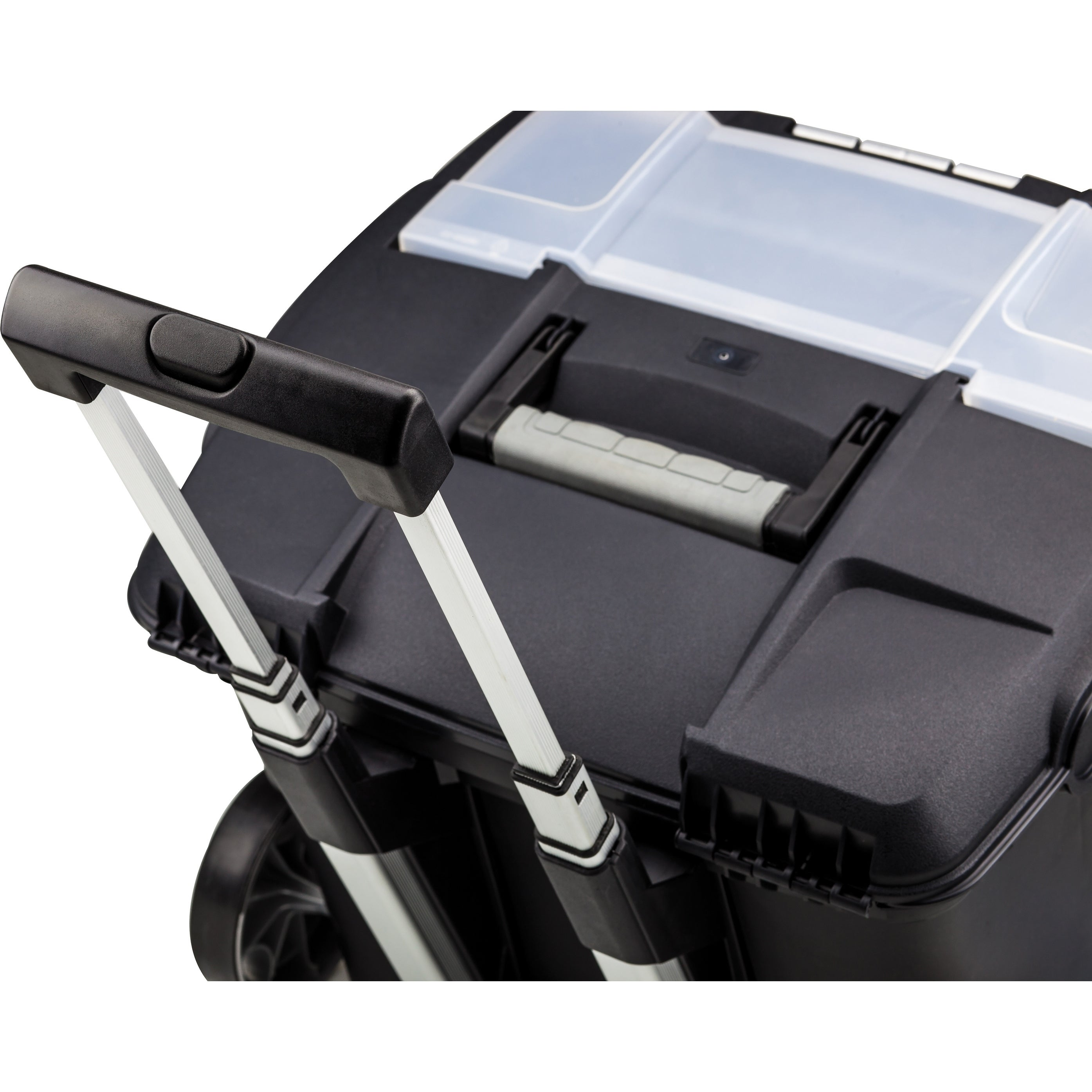 Shop Storex Premium Portable File Box On Wheels Free Shipping