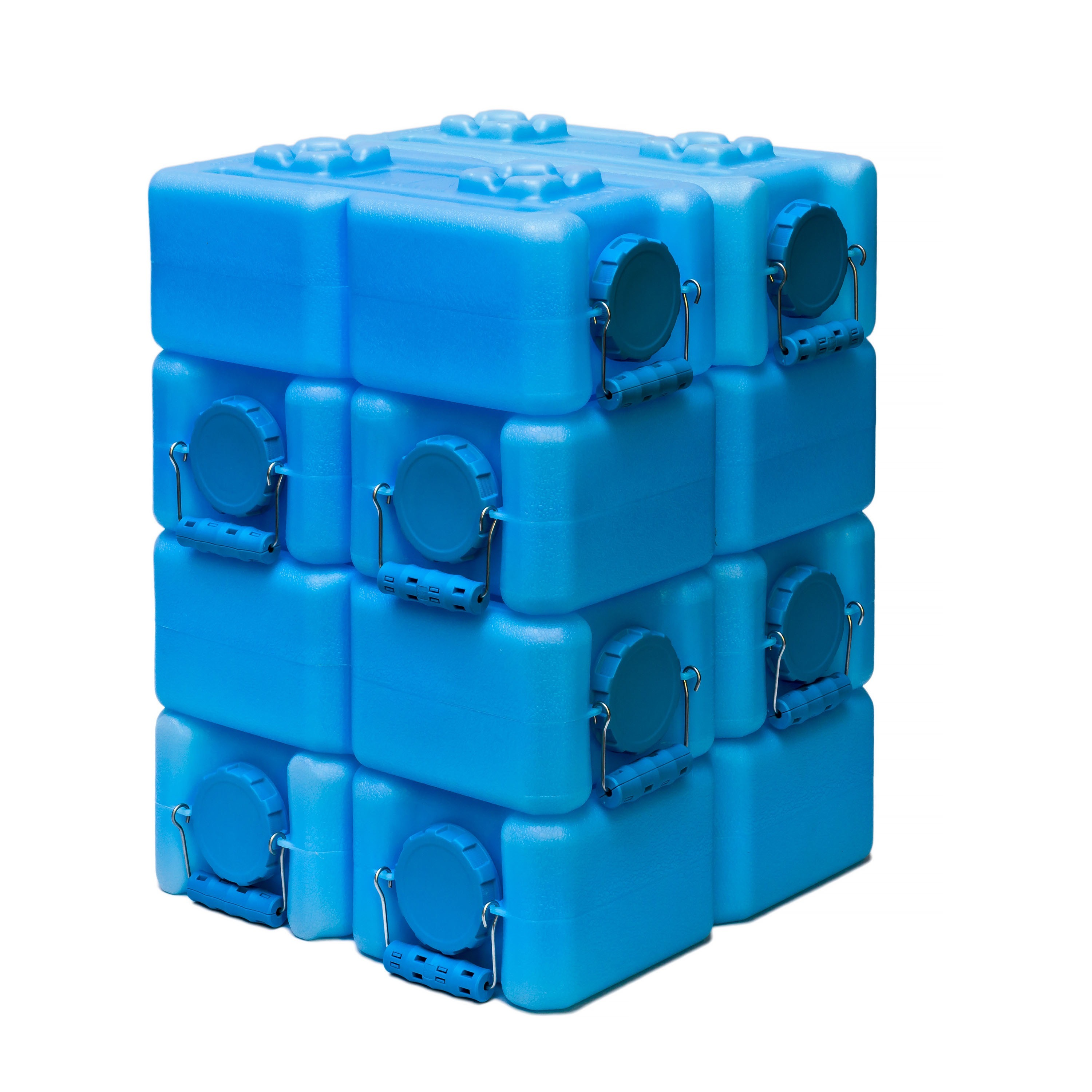 Shop WaterBrick Blue 35 gallon BPA Free Water Storage Container