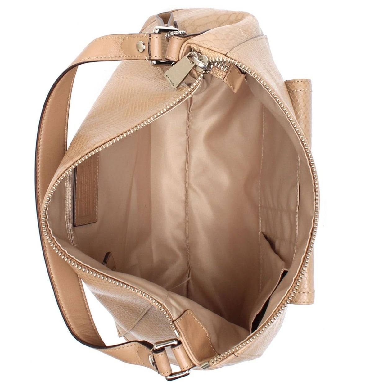 Shop Coach Charlie Python Leather Hobo Tote Shoulder Handbag - On Sale - Free  Shipping Today - Overstock.com - 10856919 c3fdc6513c