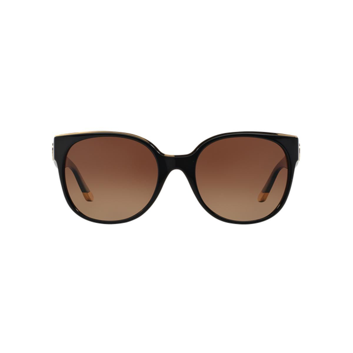 32e2cd3068 Shop Tory Burch Women s TY9042 1312T5 Black Plastic Square Polarized  Sunglasses - Free Shipping Today - Overstock - 10857073