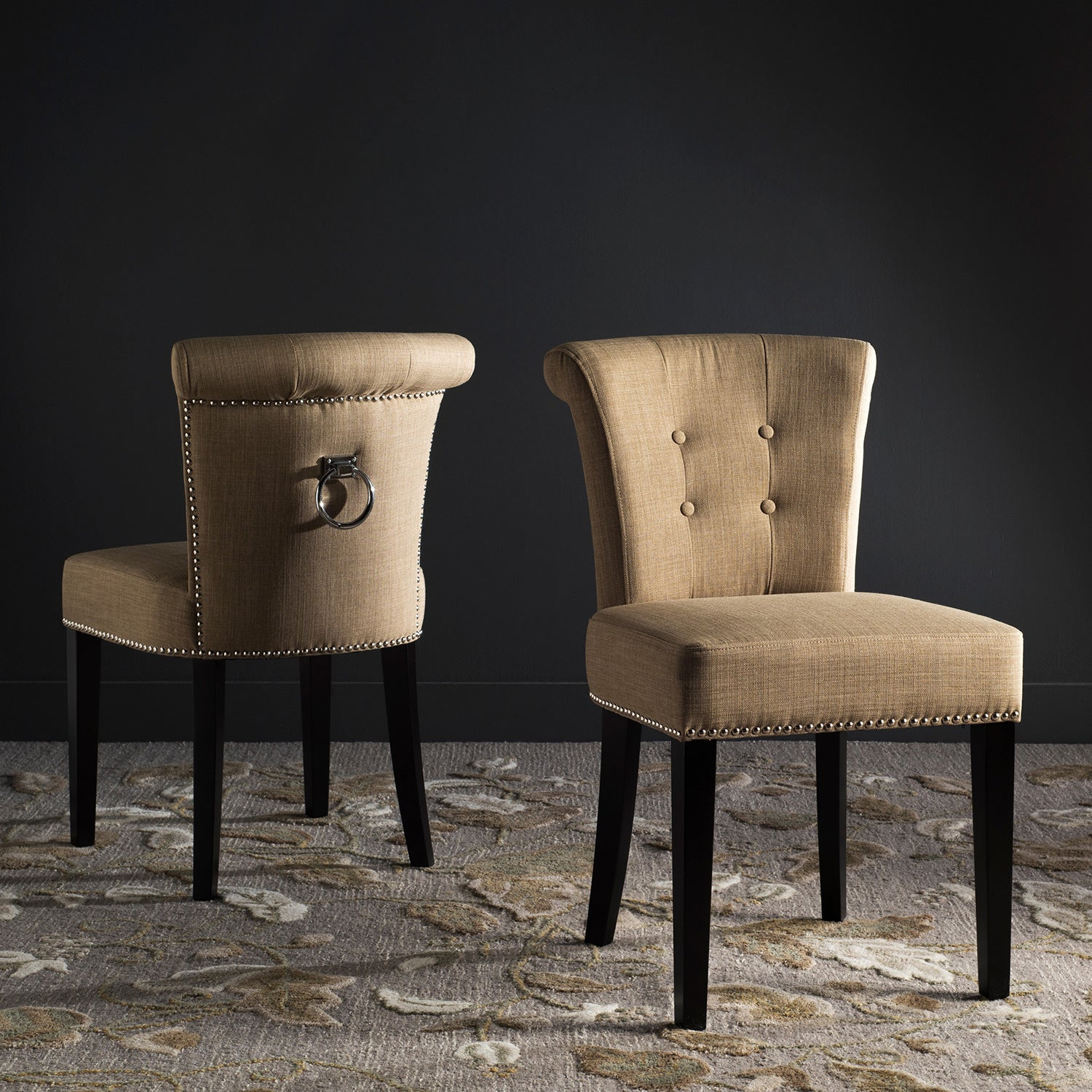 Ordinaire Shop Safavieh Sinclair Beige Ring Chairs (Set Of 2)   Free Shipping Today    Overstock.com   10857092