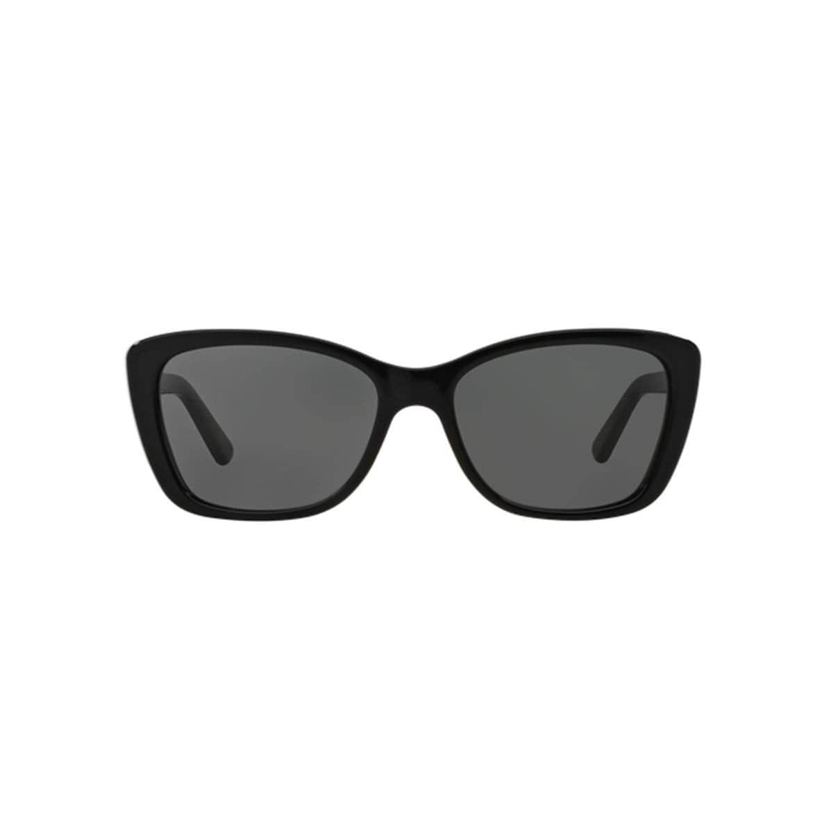 e23cee009d Shop DKNY Women s DY4130 Black Plastic Cat Eye Sunglasses - Free Shipping  Today - Overstock.com - 10857198