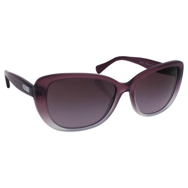 7d61168cdf Ralph by Ralph Lauren Women s RA5203 1090T5 Black Plastic Cat Eye Polarized  Sunglasses