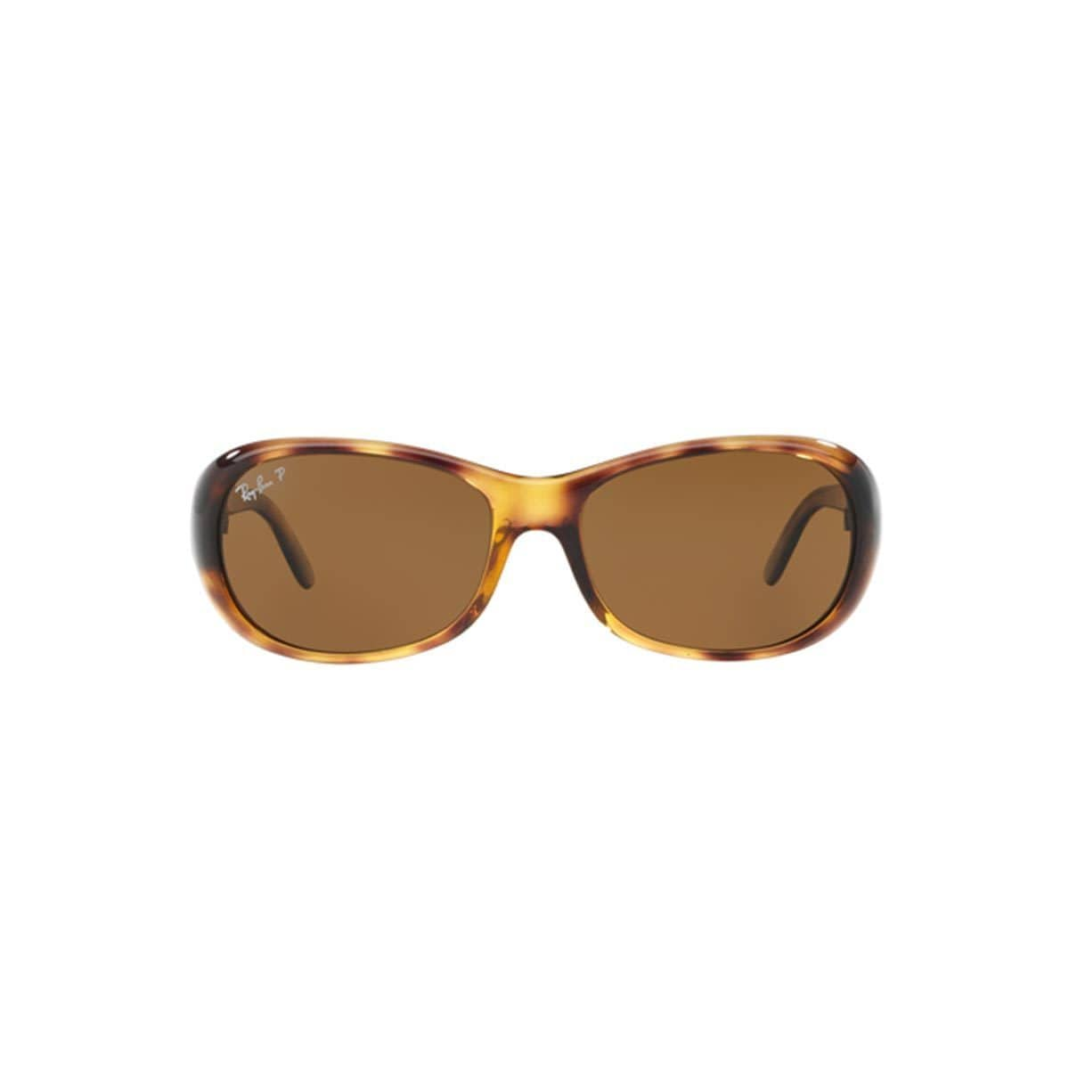 6b3bffacfe Shop Ray-Ban Women s RB4061 642 57 Tortoise Plastic Oval Polarized  Sunglasses (As Is Item) - Free Shipping Today - Overstock - 12883893
