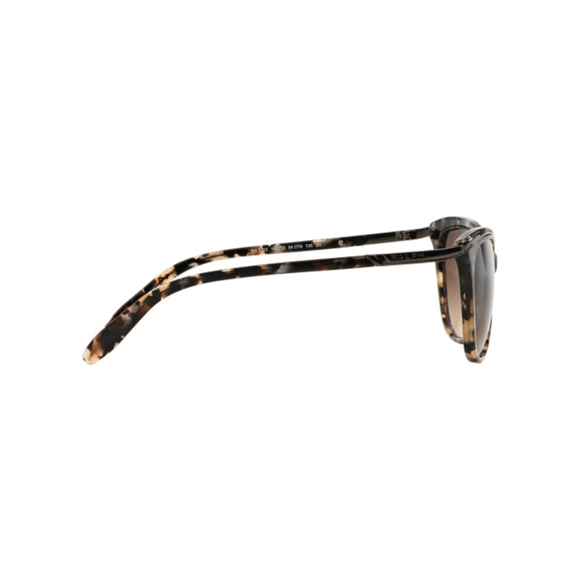 81850c059210 Shop Ralph by Ralph Lauren Women s RA5203 Brown Plastic Cat Eye Sunglasses  - Free Shipping Today - Overstock.com - 10857345